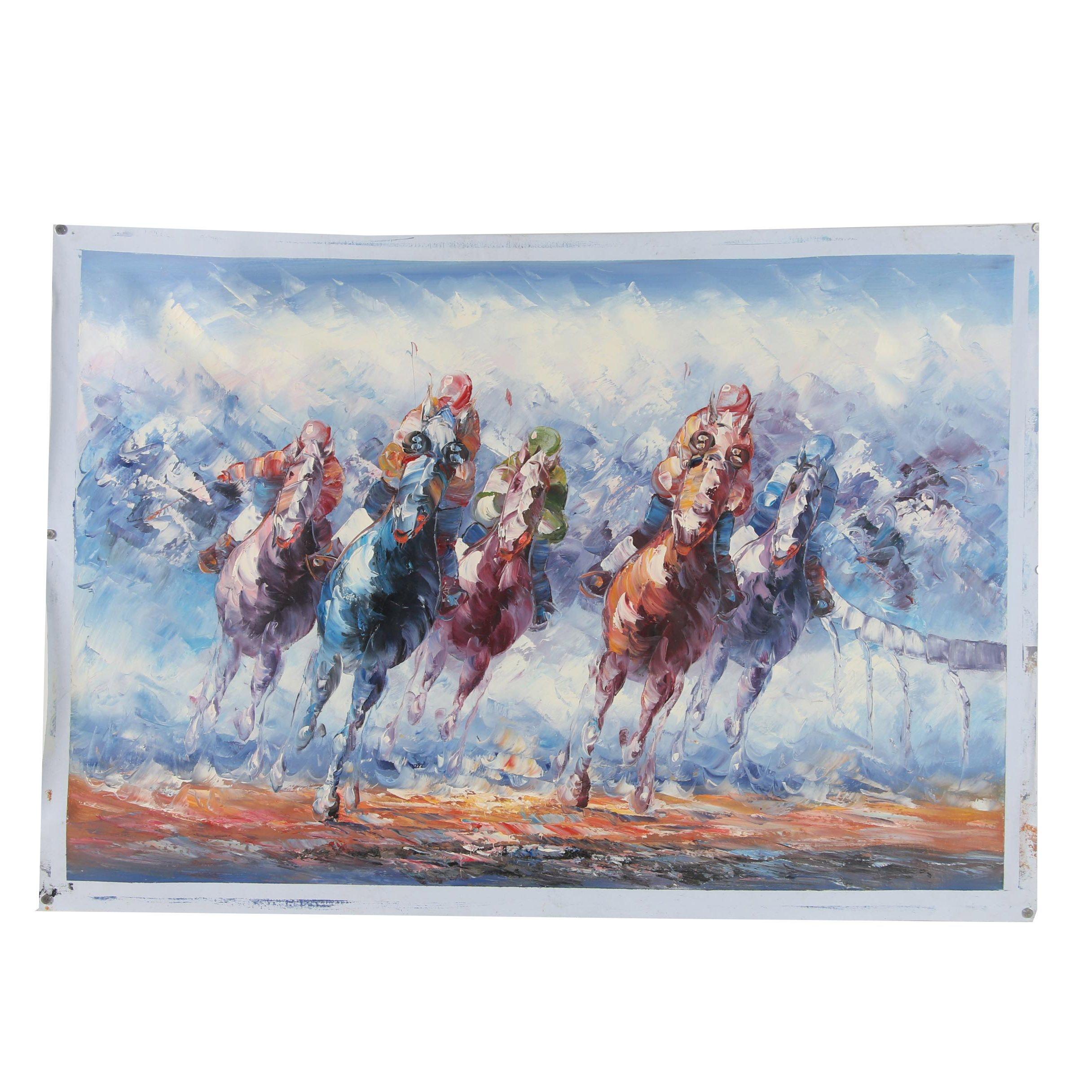 21st Century Oil Paintings