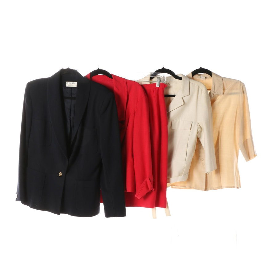 937f252aff Women's Vintage Separates including Sophie of Saks Fifth Avenue and Calvin  Klein ...