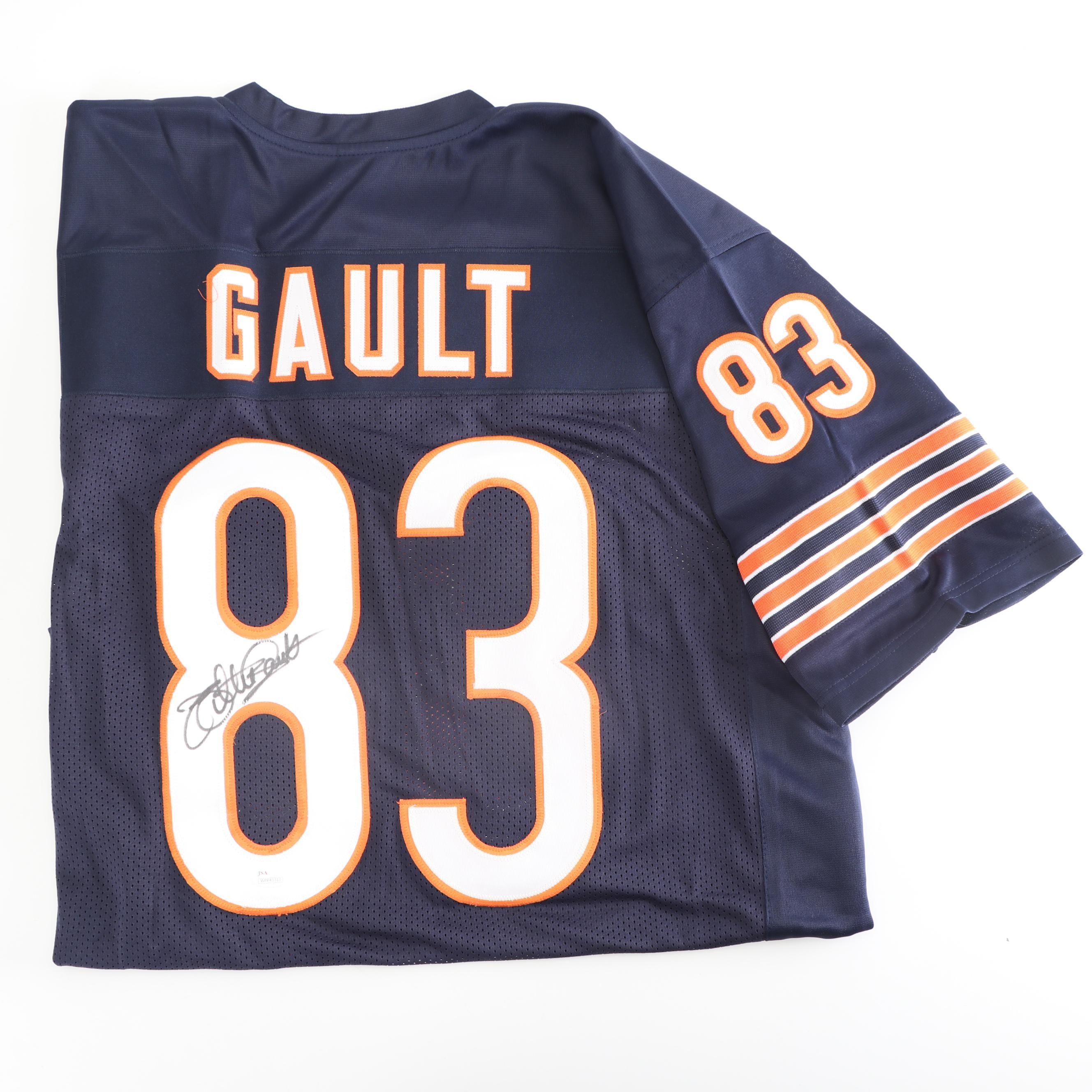 Willie Gault Autographed Chicago Bears Replica Jersey - JSA COA