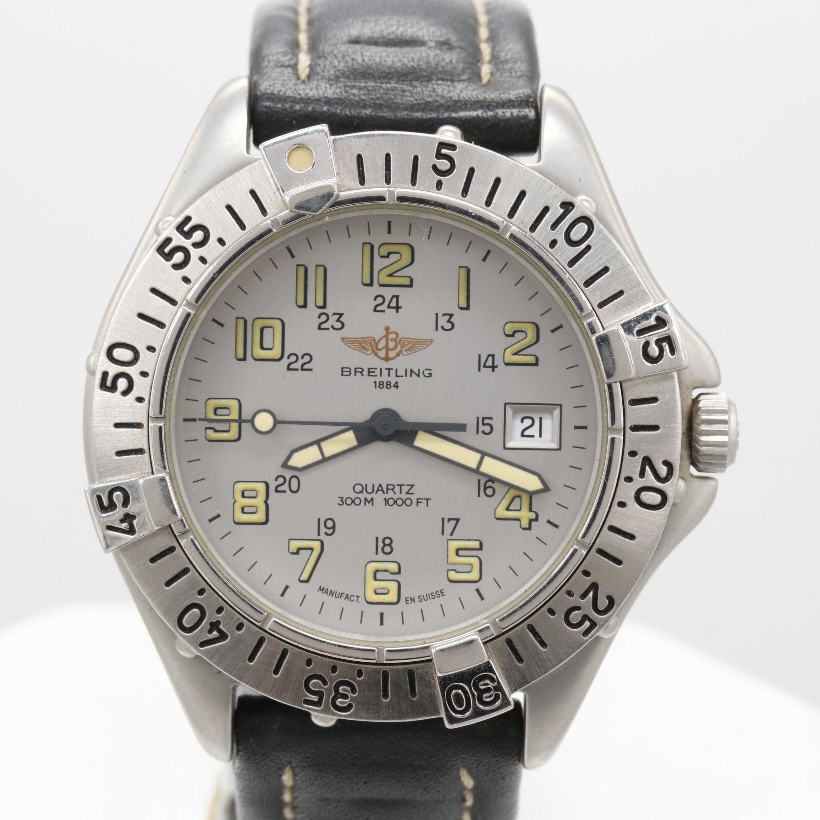 Breitling Colt Model A57035 Quartz Wristwatch
