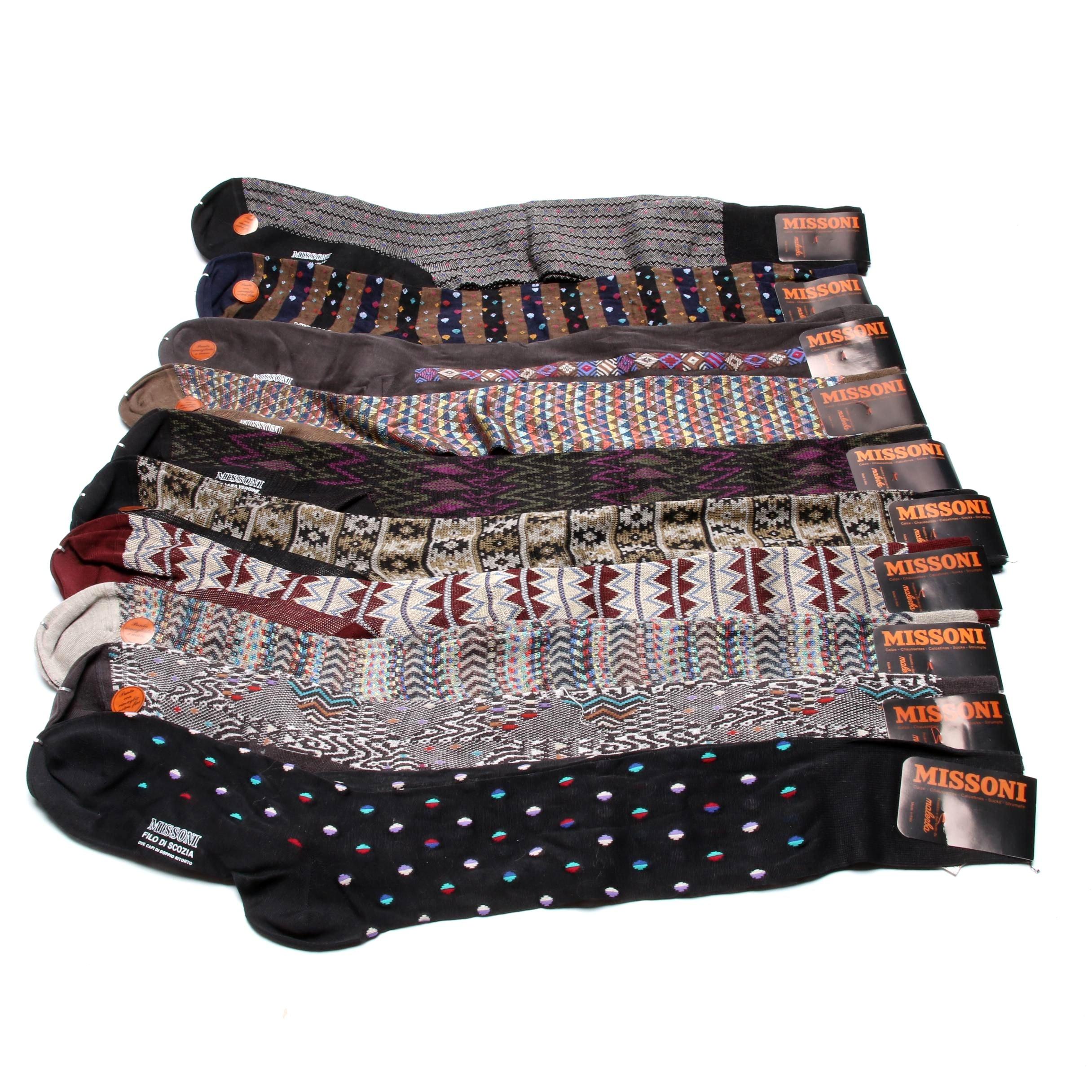 Men's Missoni Italian Designer Socks