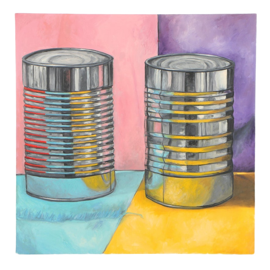 "Shannon Fitch Oil Painting ""Tin II"""