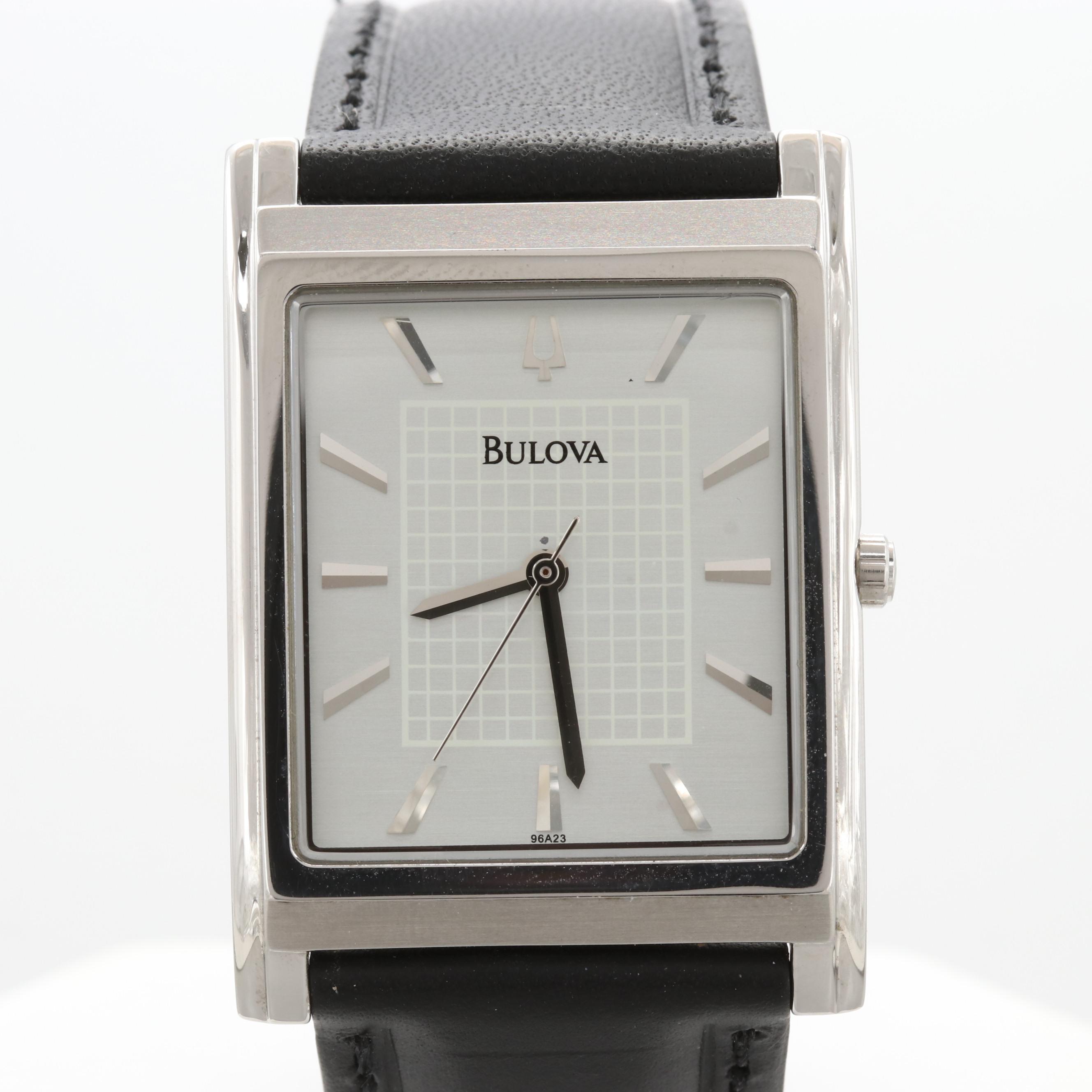 Bulova Model 96A23 Quartz Wristwatch
