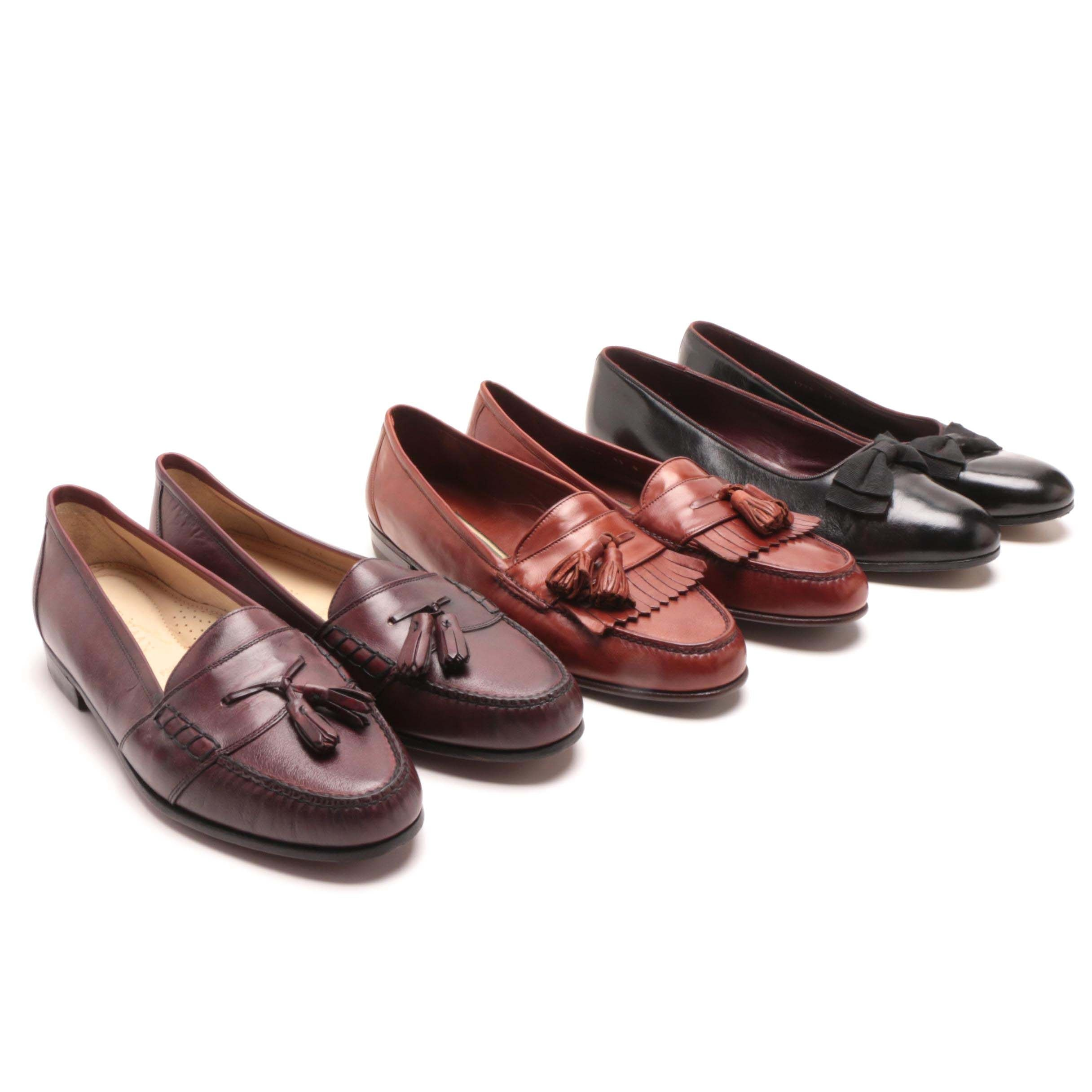 Men's Cole Haan Leather Tasseled Loafers and Dress Loafers