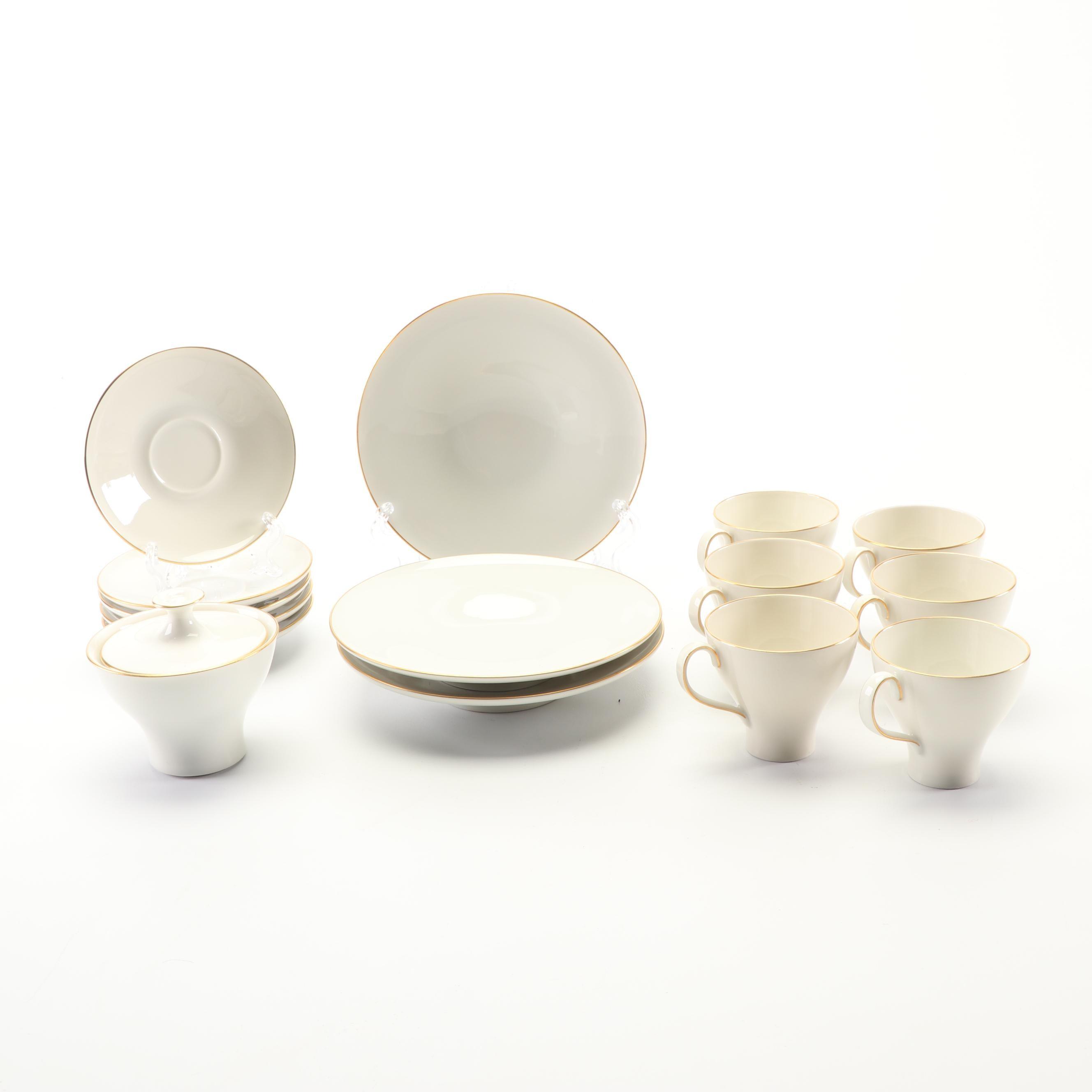 Vintage Konigliche Porzellan Manufacktur Porcelain Tea Set