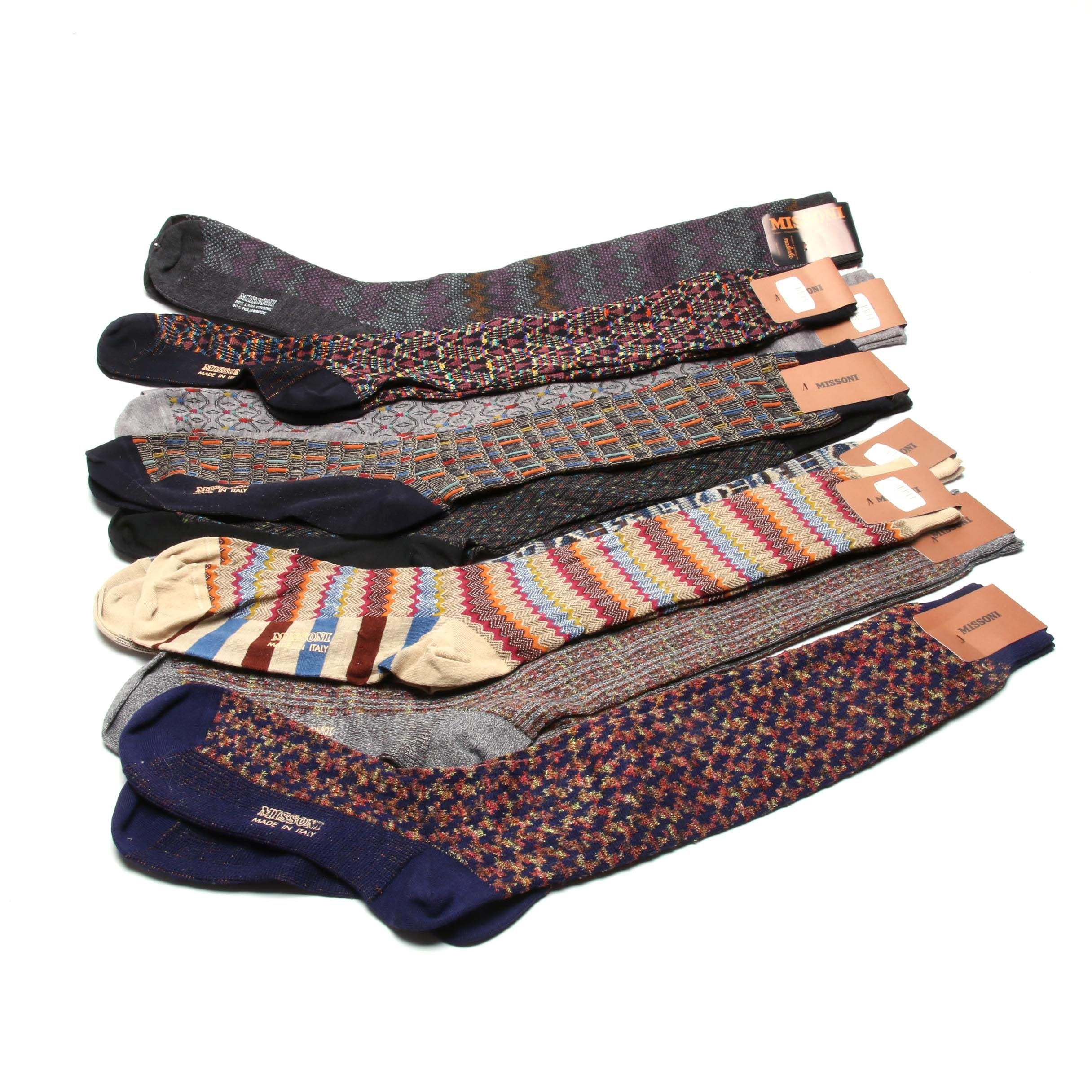 Men's Missoni Italian Designer Socks
