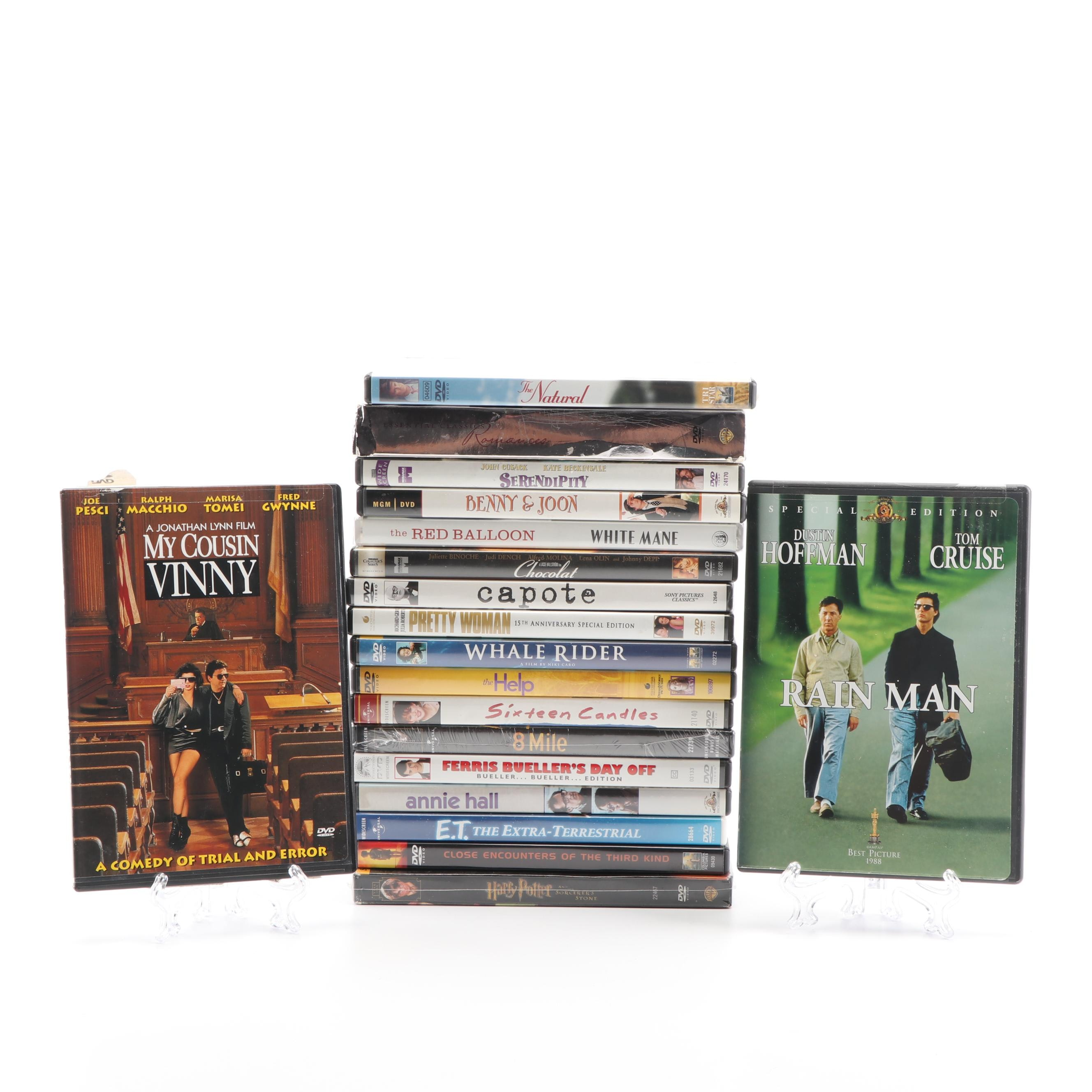 """DVD Collection including """"Pretty Woman"""", """"The Help"""", and """"Annie Hall"""""""
