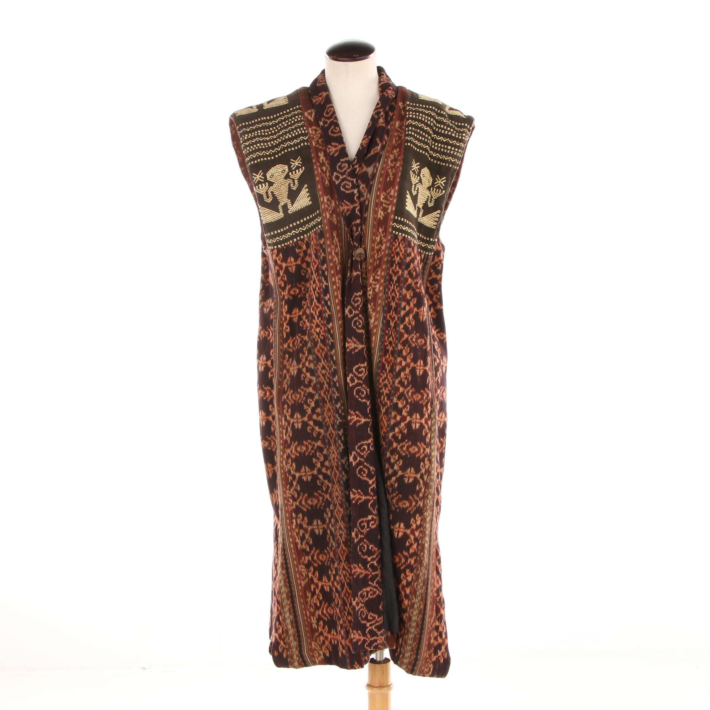 Women's Kitavi Cotton Weave Tunic Vest
