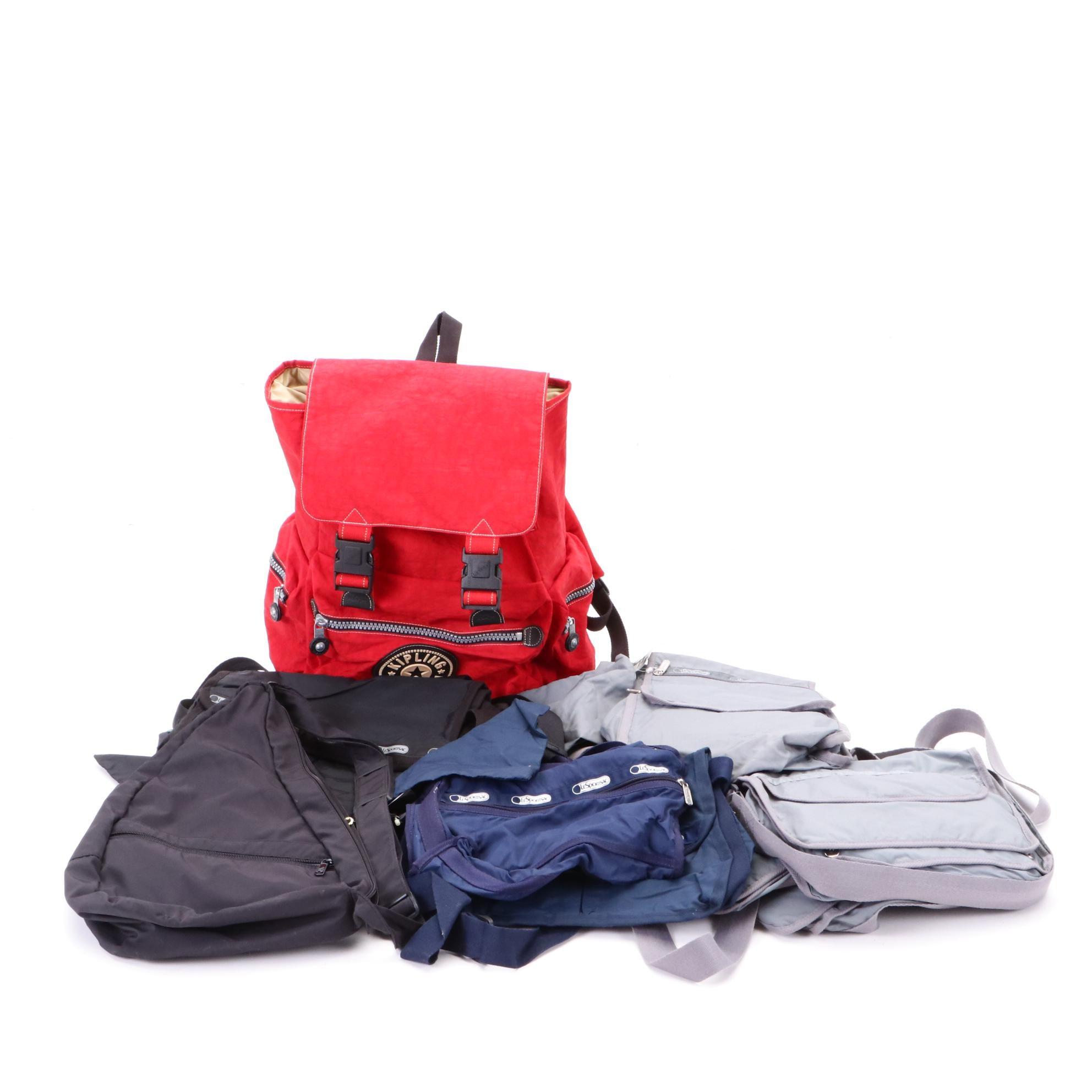 Kipling, LeSportsac and AmeriBag Backpacks and Shoulder Bags