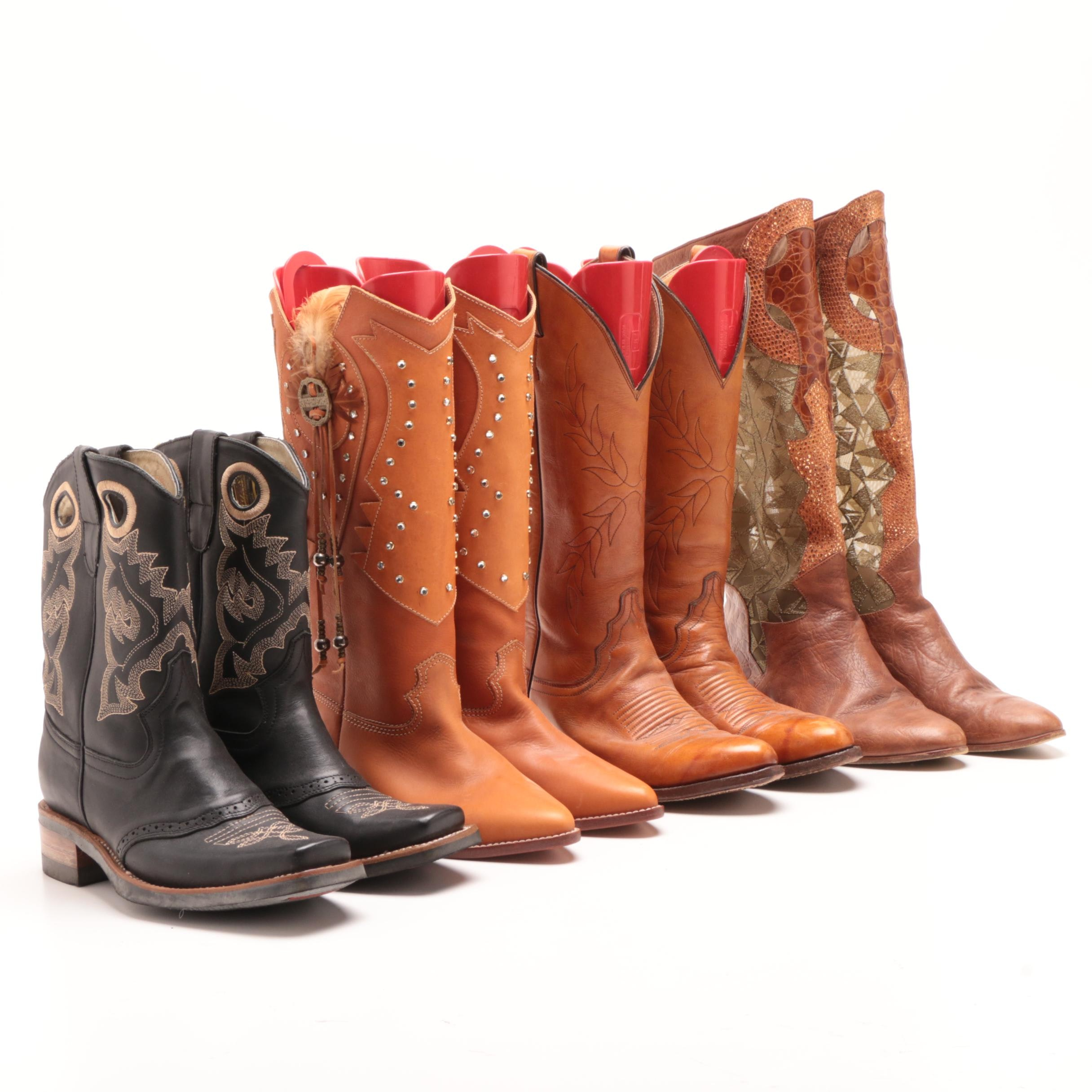 Women's Justin Cowboy Boots and Other Western Style Boots