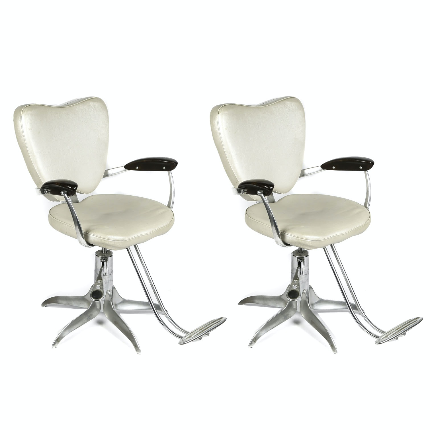 "Gamma & Bross Italian ""Man Ray"" Styling Chairs"