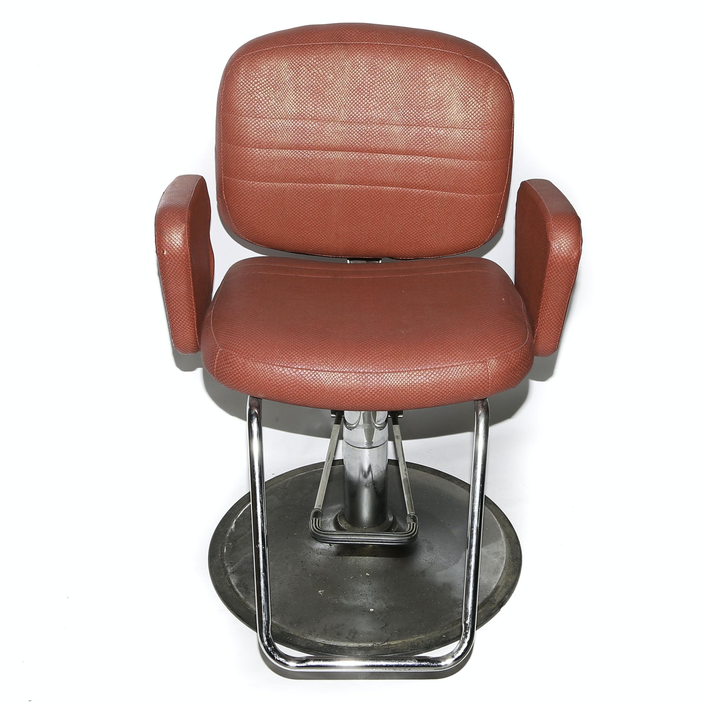 Global Upholstery Co Inc Salon Chair Ebth