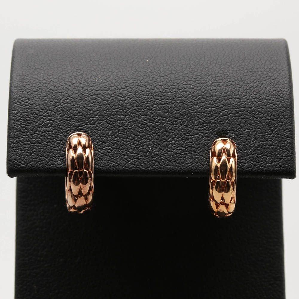 Gold Wash on Sterling Silver Huggie Hoop Earrings