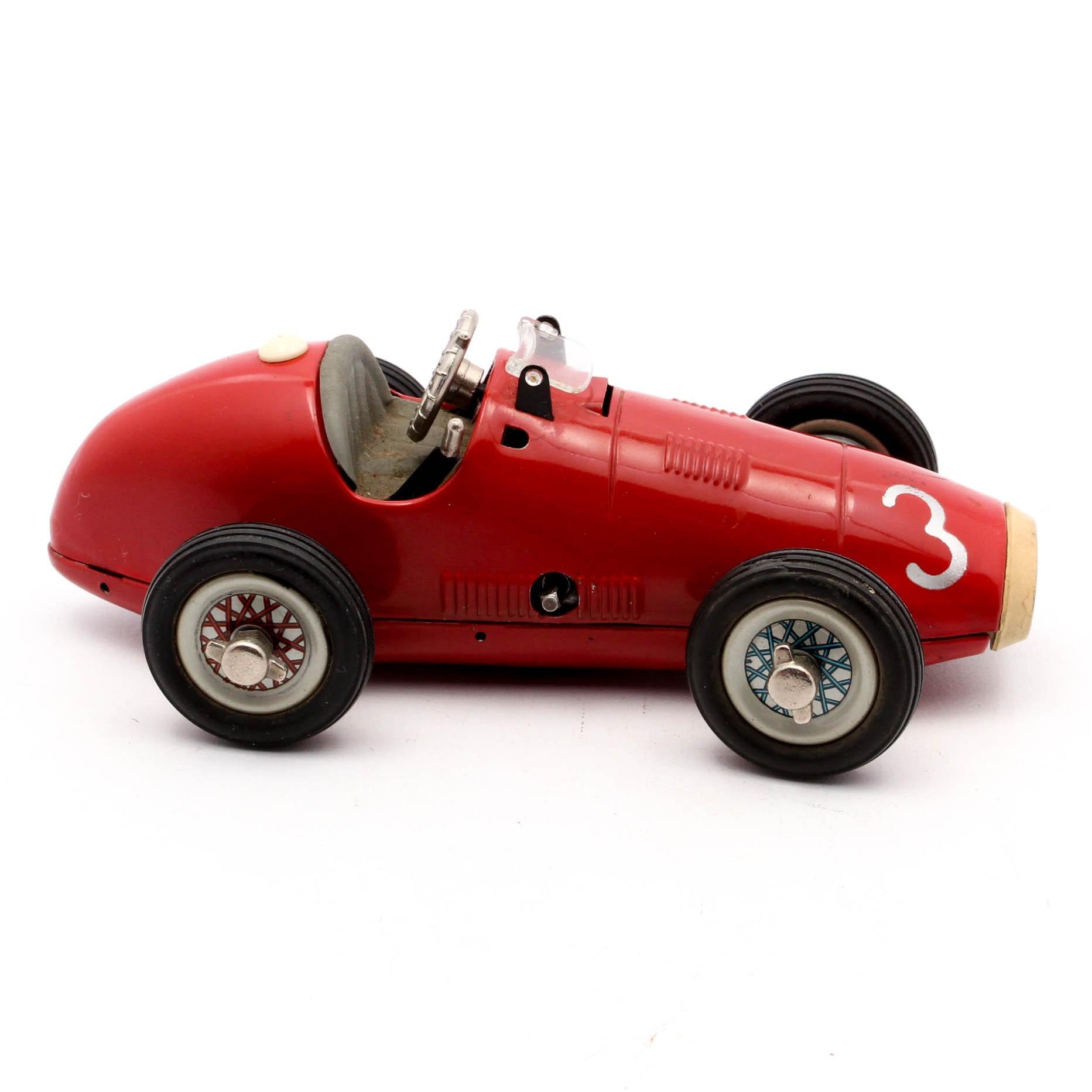 Vintage Schuco Die-Cast Grand Prix Race Car