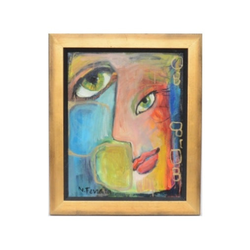 Nelle Ferrara Oil on Canvas
