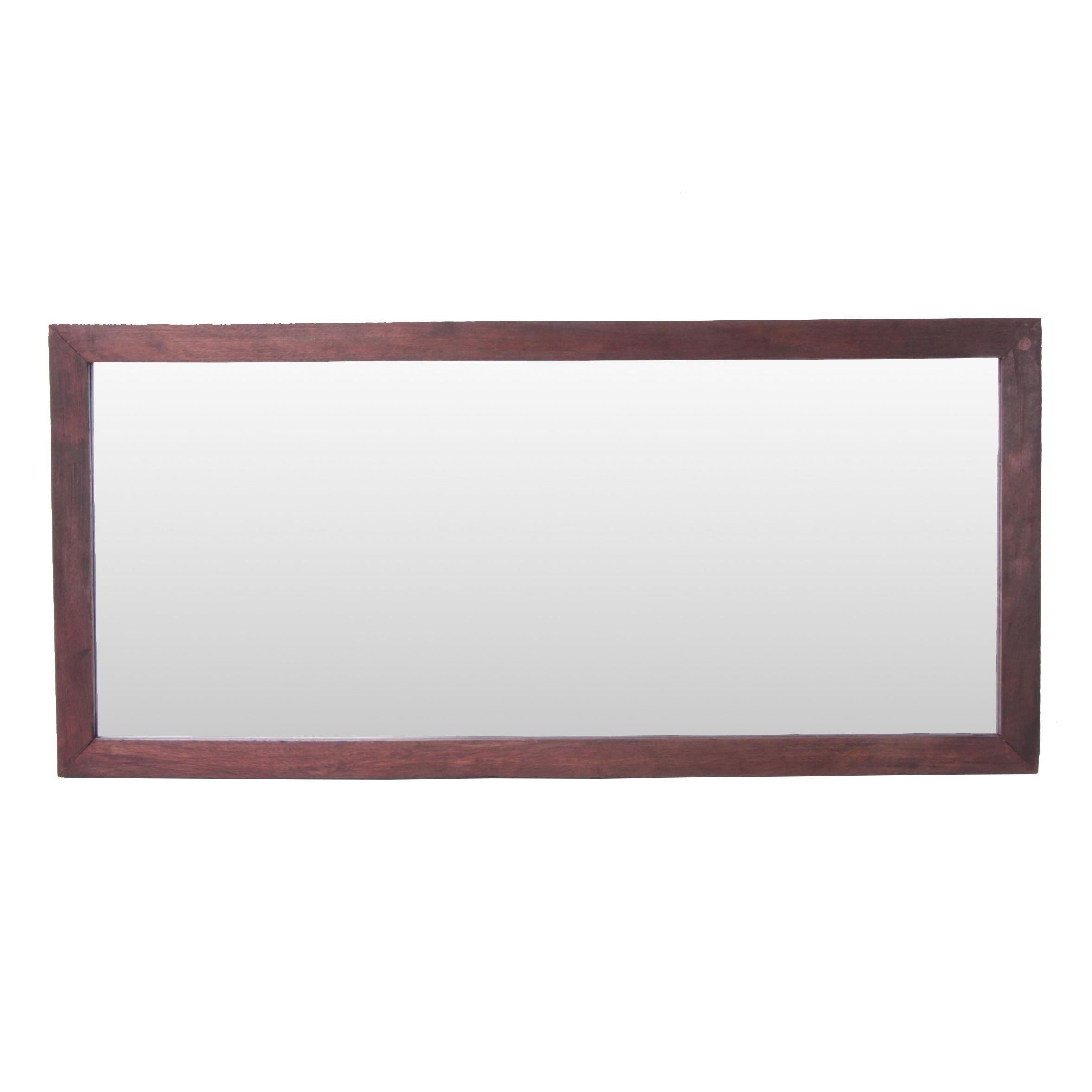 Mahogany Framed Sofa Mirror