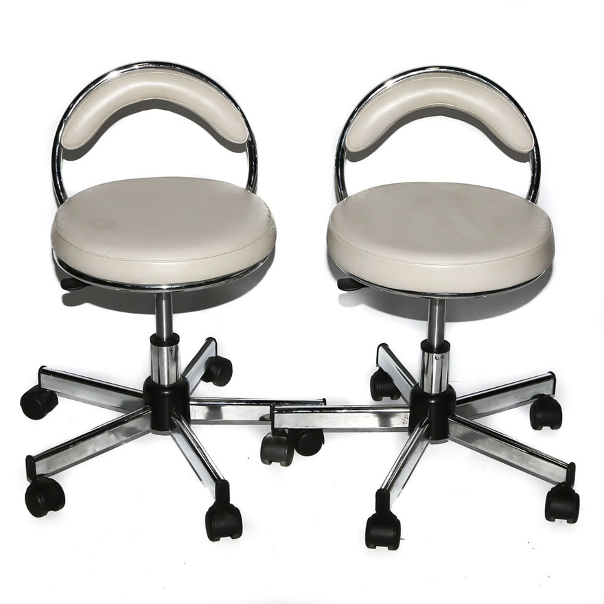 Rolling Nail Salon Chairs : EBTH