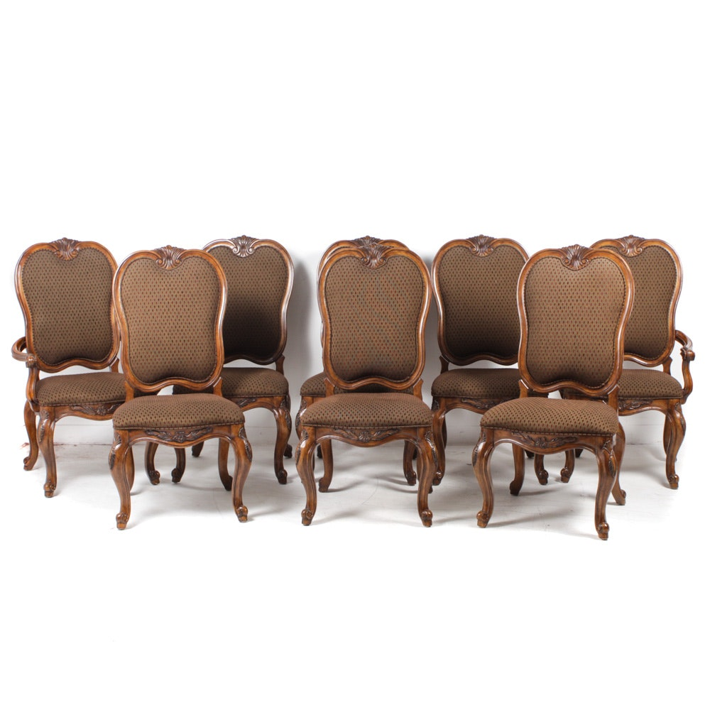 Eight Bernhardt Dining Chairs