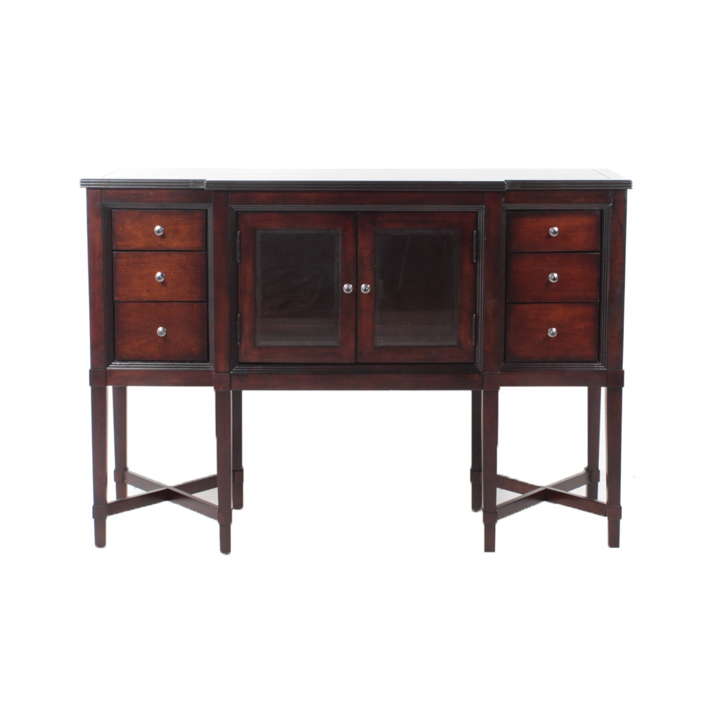 Contemporary American Signature Wood Sideboard