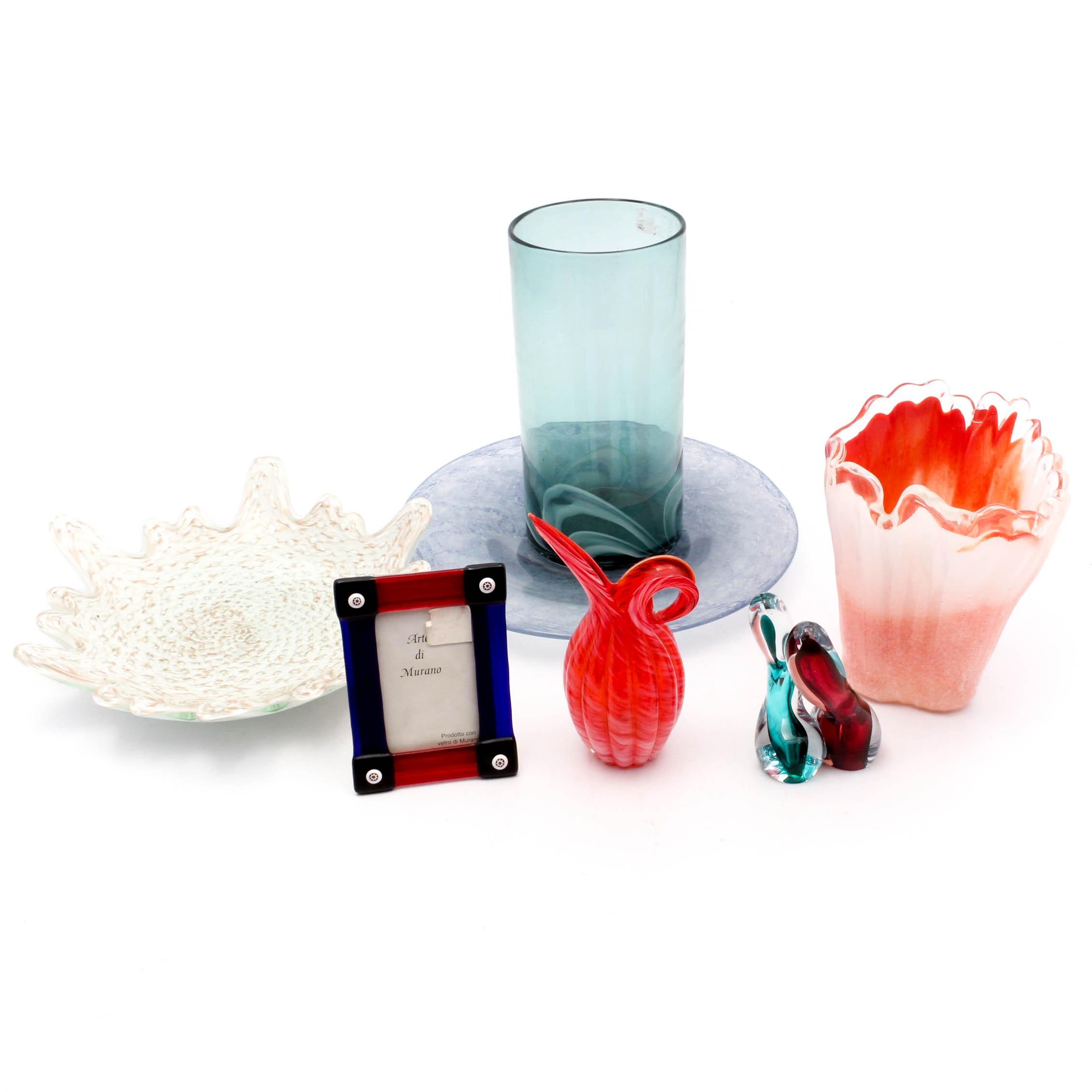 Hand-Blown Art Glass Collection