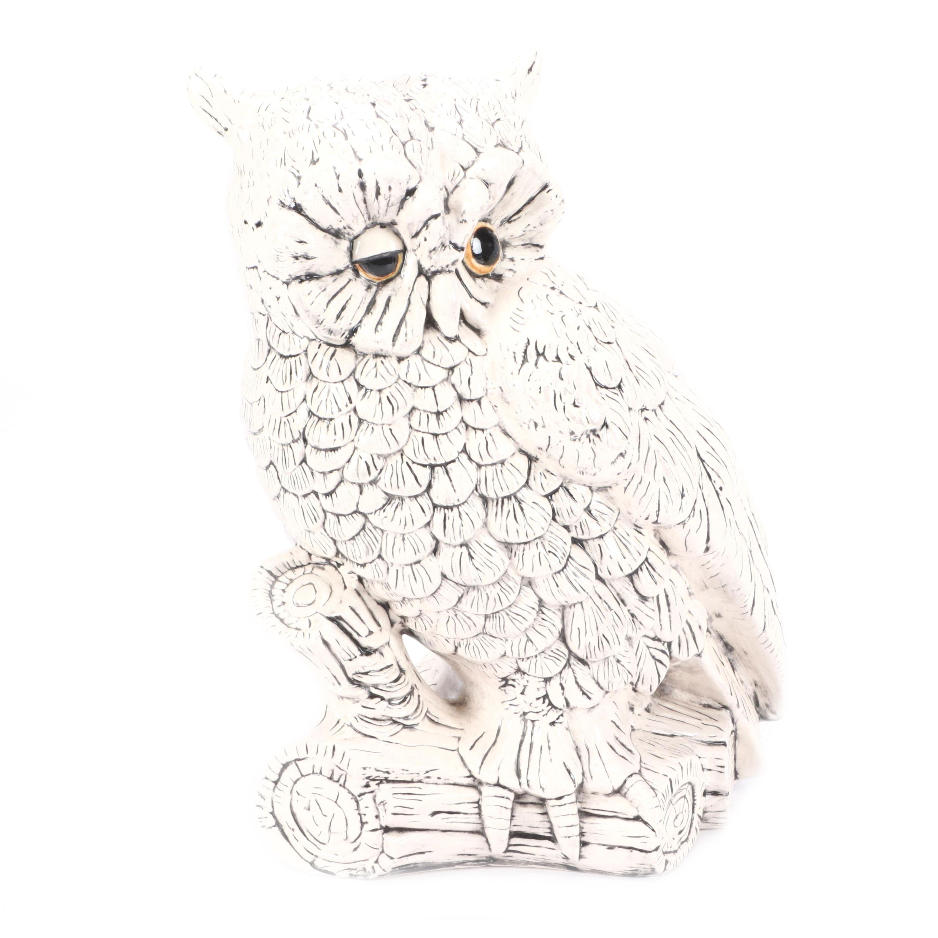 Atlantic Mold Ceramic Owl