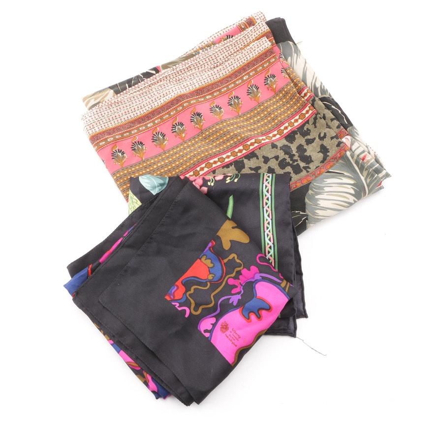 6b29baee91d6 Silk Fashion Scarves including Dana Buchman