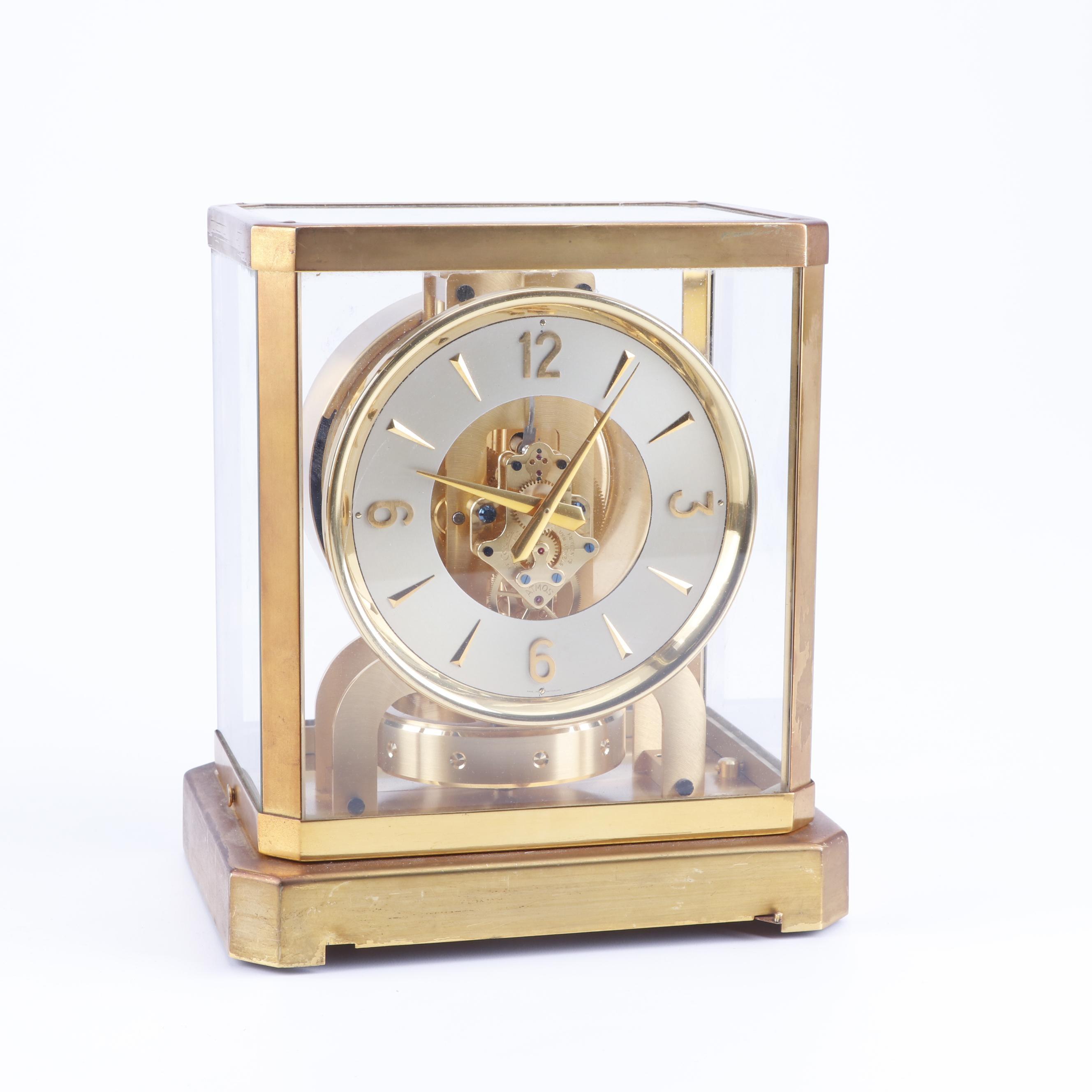 "Swiss LeCoultre ""Atmos"" Mantle Clock"