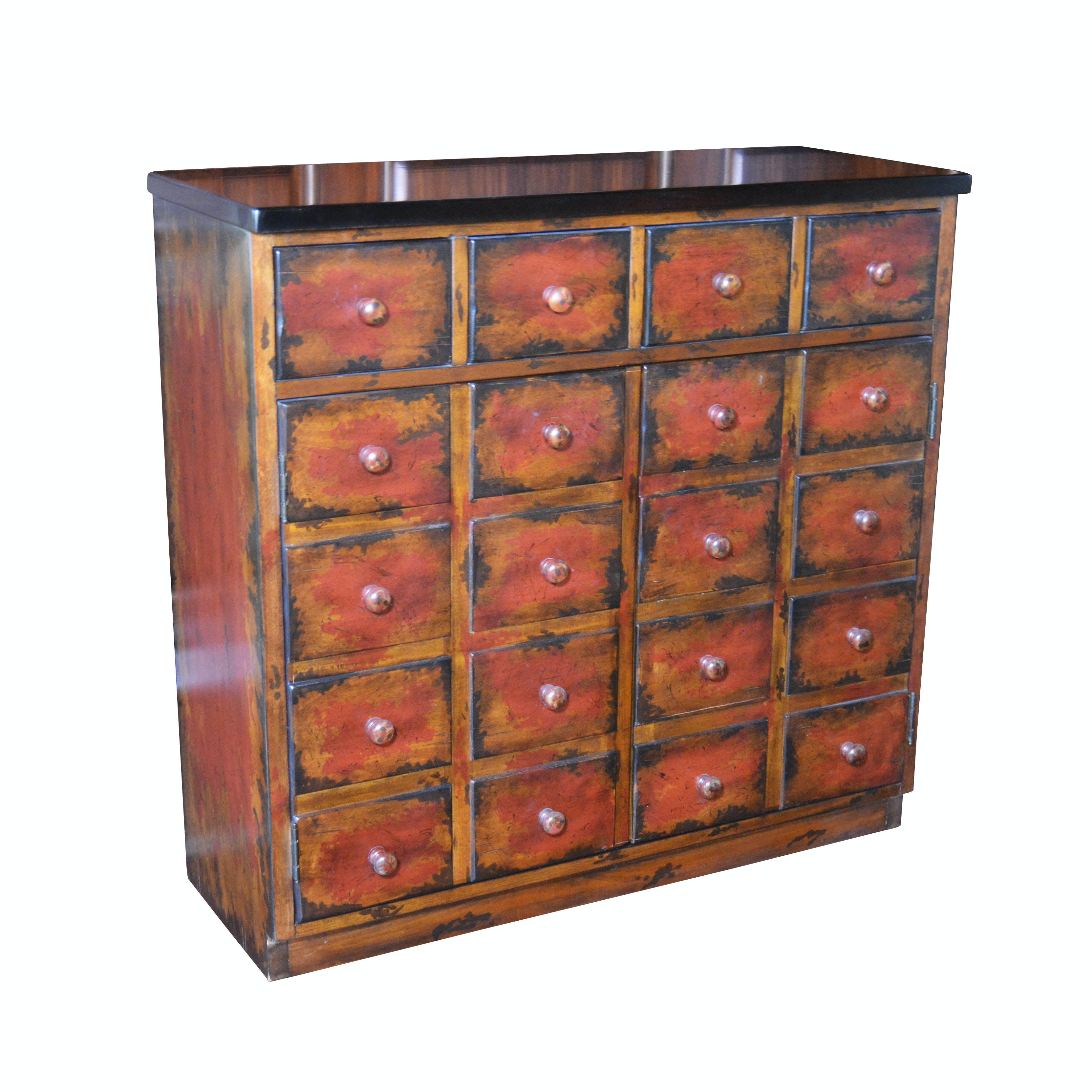 """Apothecary Style """"Andover """" Cabinet by Pottery Barn, 21st Century"""