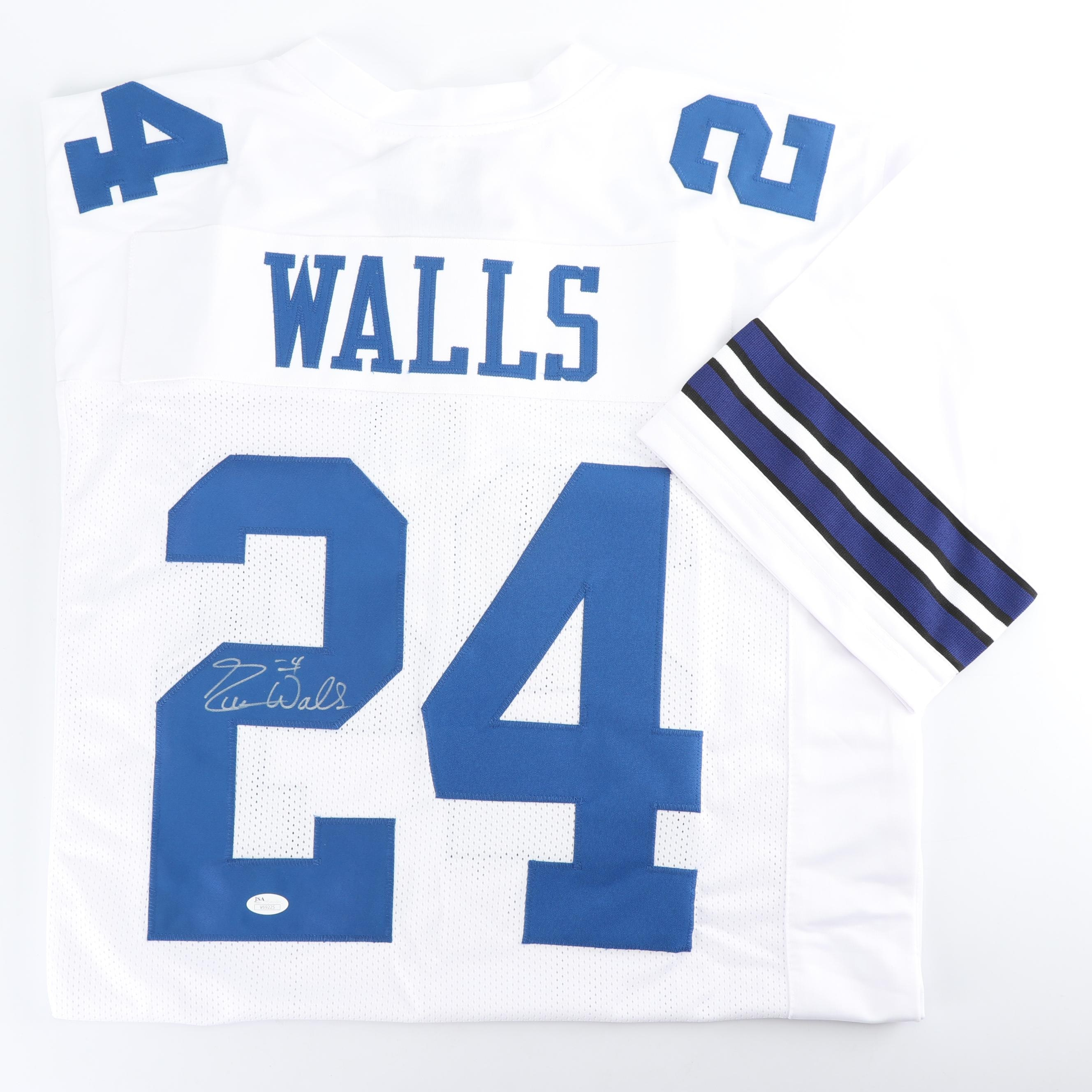 Everson Walls Autographed Dallas Cowboys Jersey - JSA COA