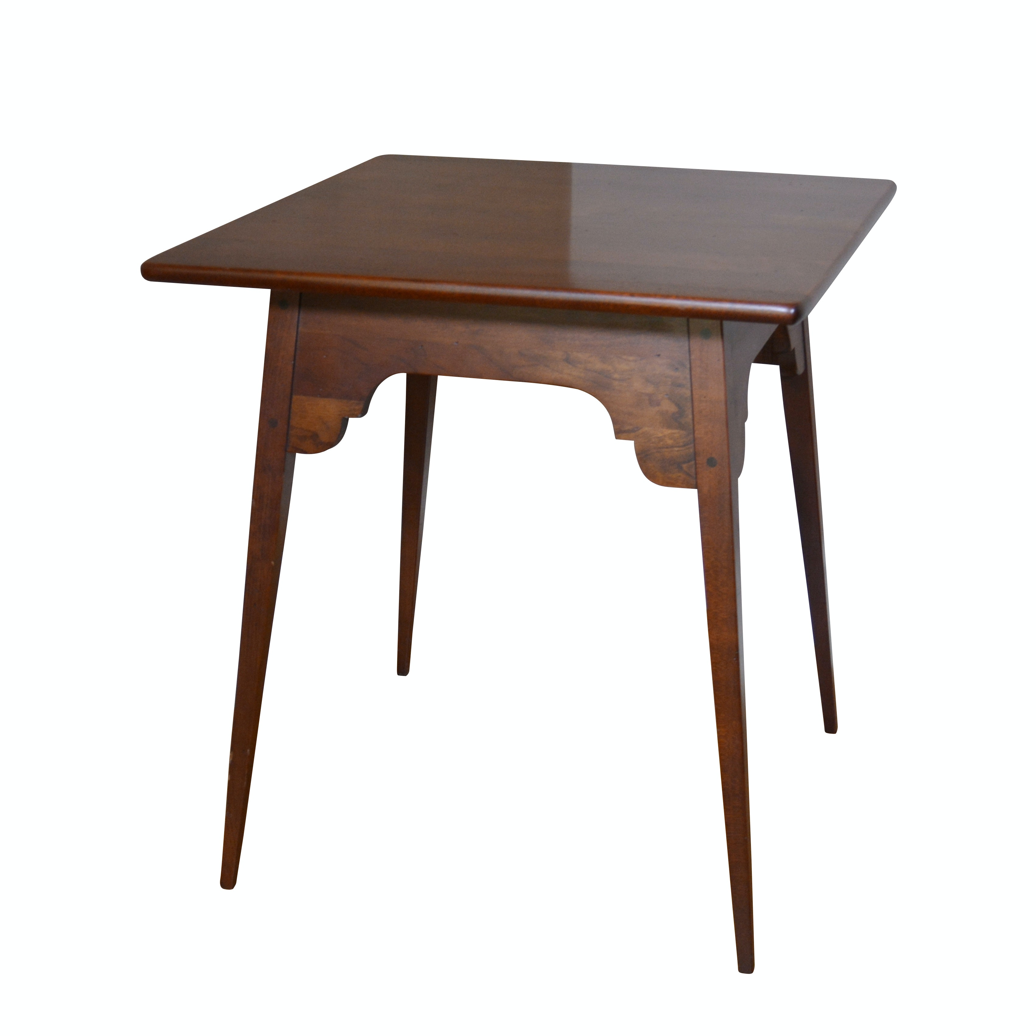 Contemporary Cherrywood Occasional Table