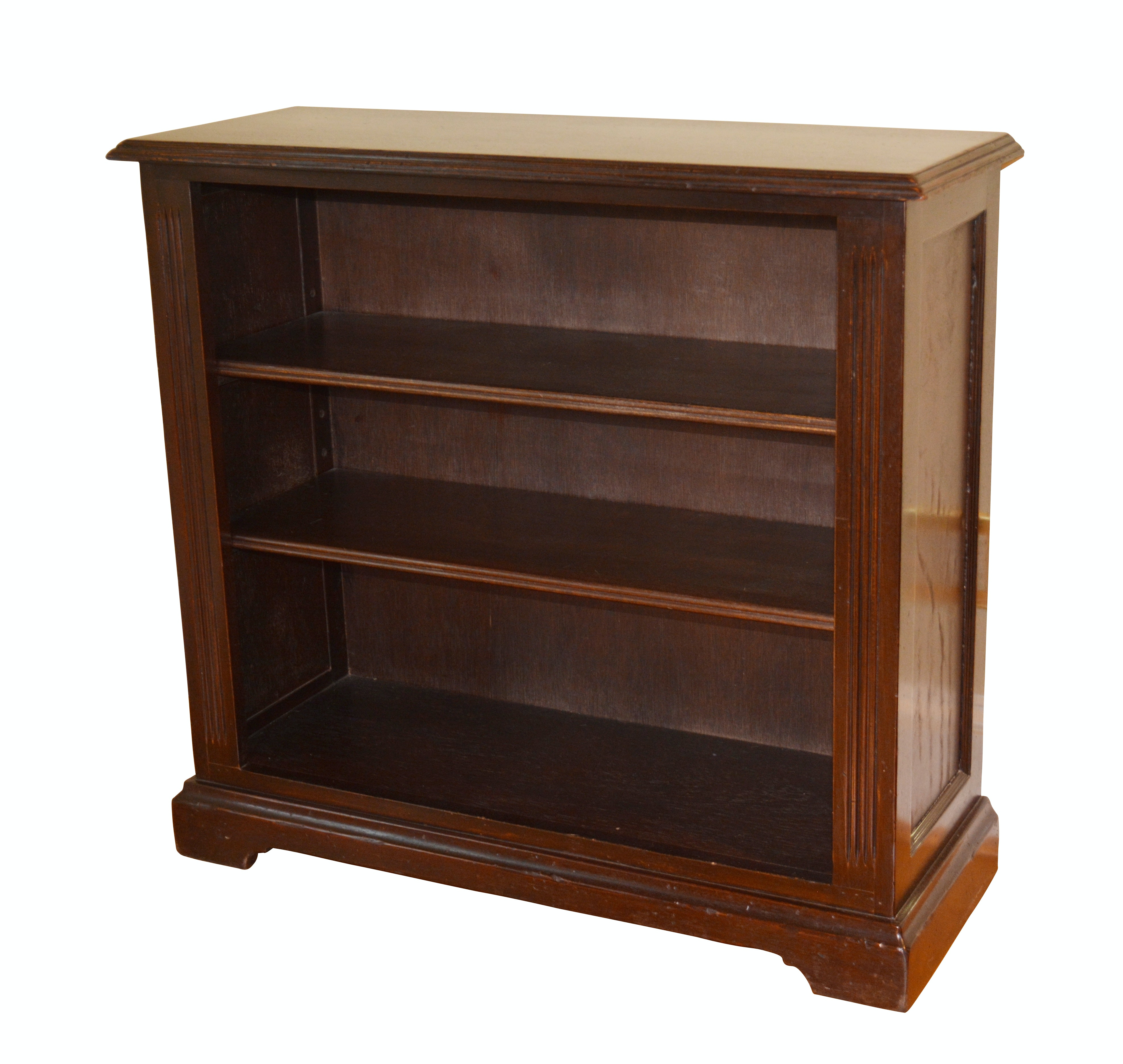 Contemporary Handmade Two-Shelf Bookcase by South Cone Trading Company