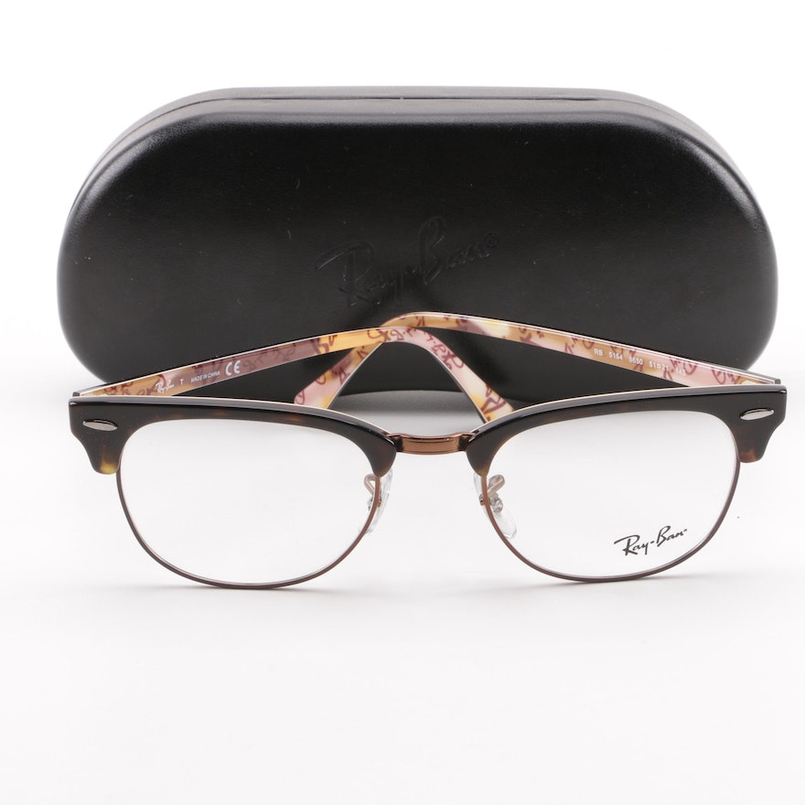 21901c2432fb0 Ray-Ban RB 5154 Clubmaster Eyeglasses with Case   EBTH