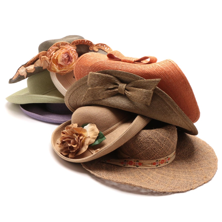 b495a62c7 Women's Sun Hats with Frank Olive, Hooray Henri, Saks Fifth Avenue and More