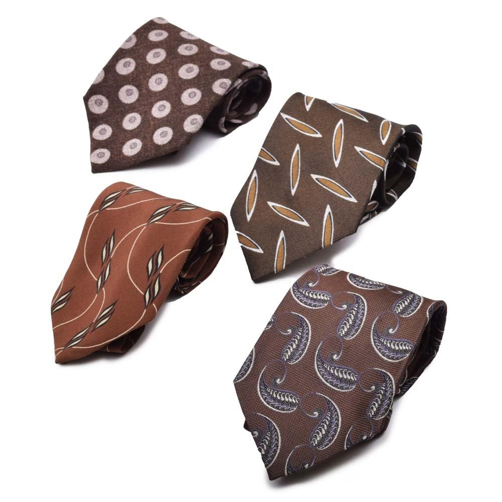 Giorgio Armani Silk Neckties, Made in Italy