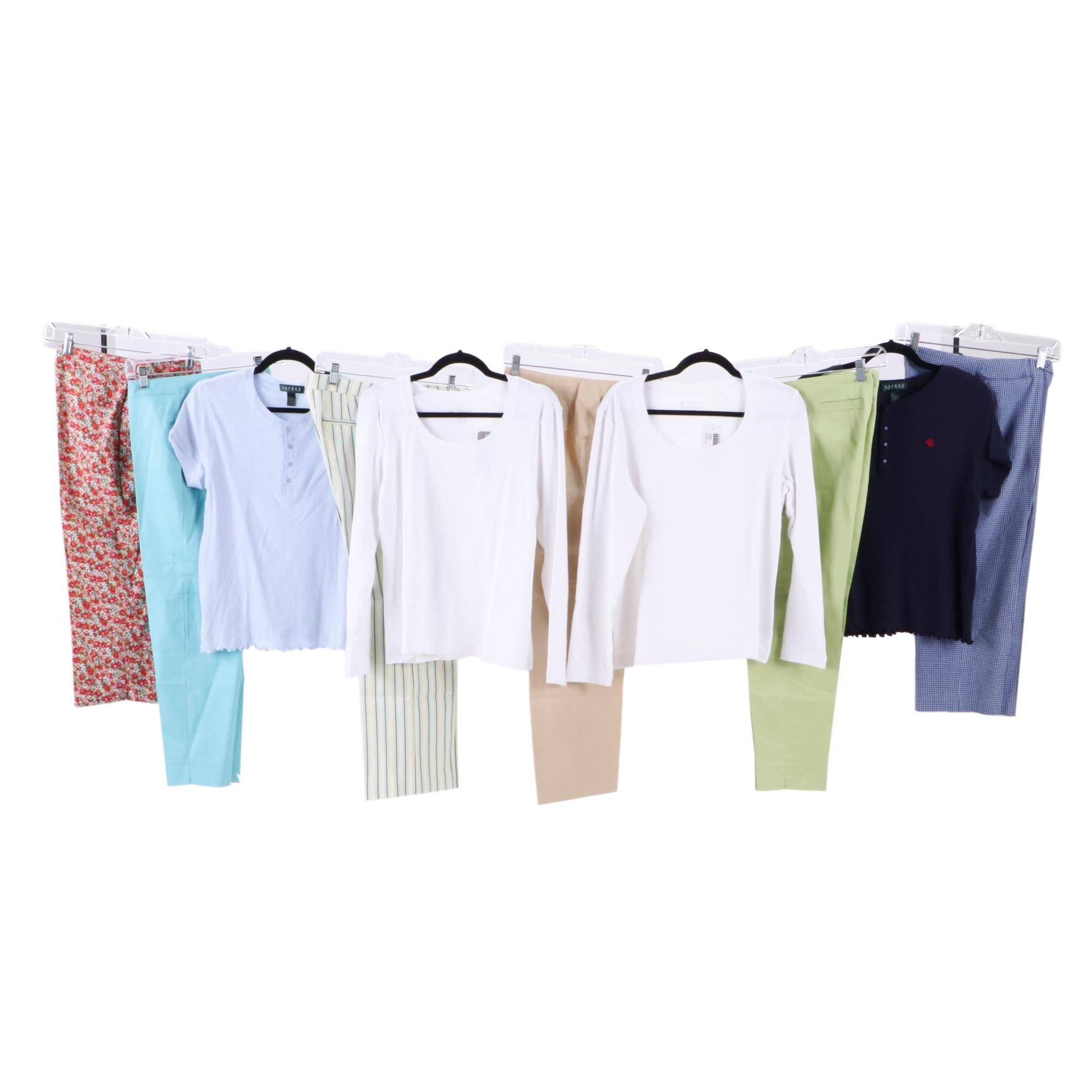 Chico's, Lauren Ralph Lauren, Signé and The Limited Pants and Shirts