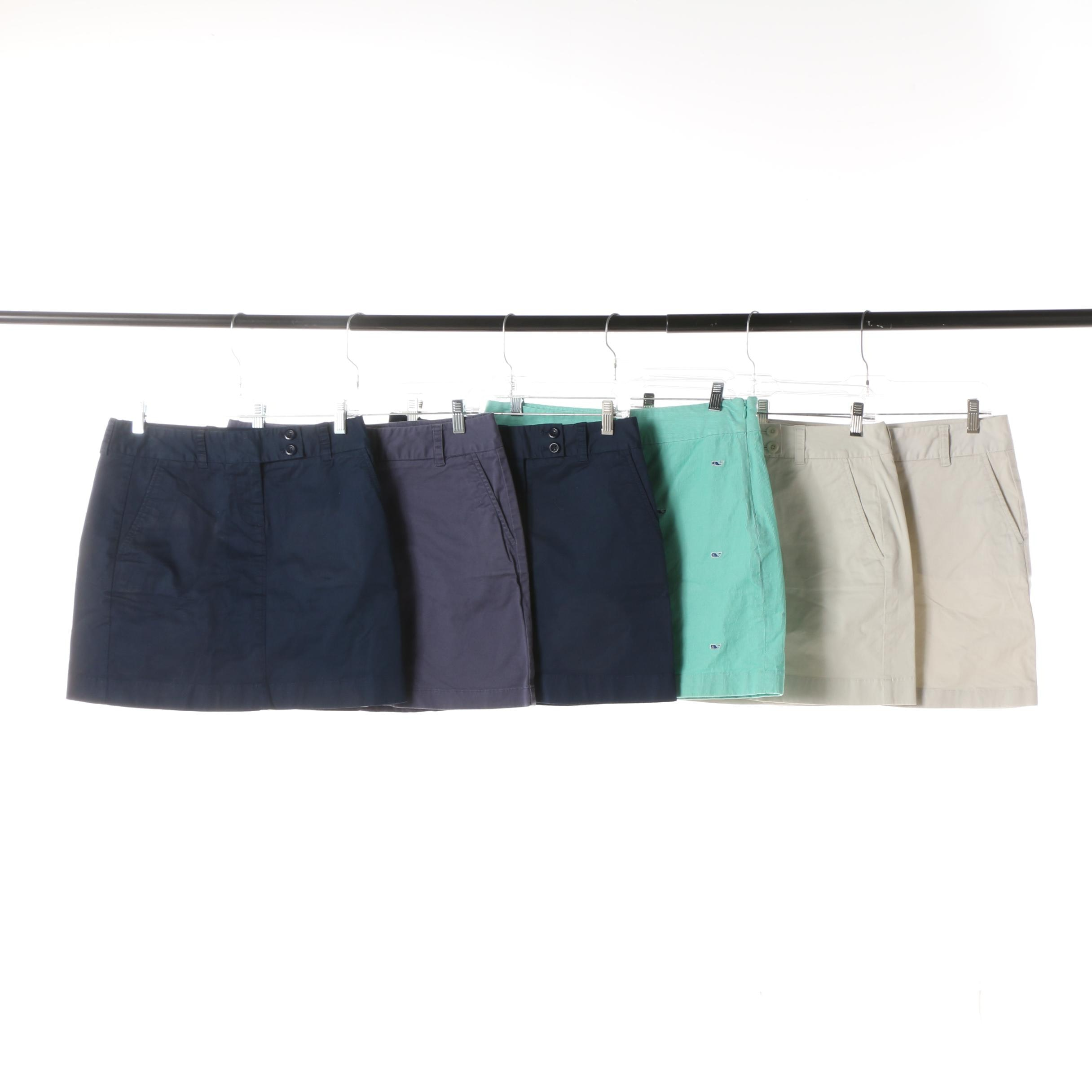 Women's Vineyard Vines Cotton Blend Miniskirts