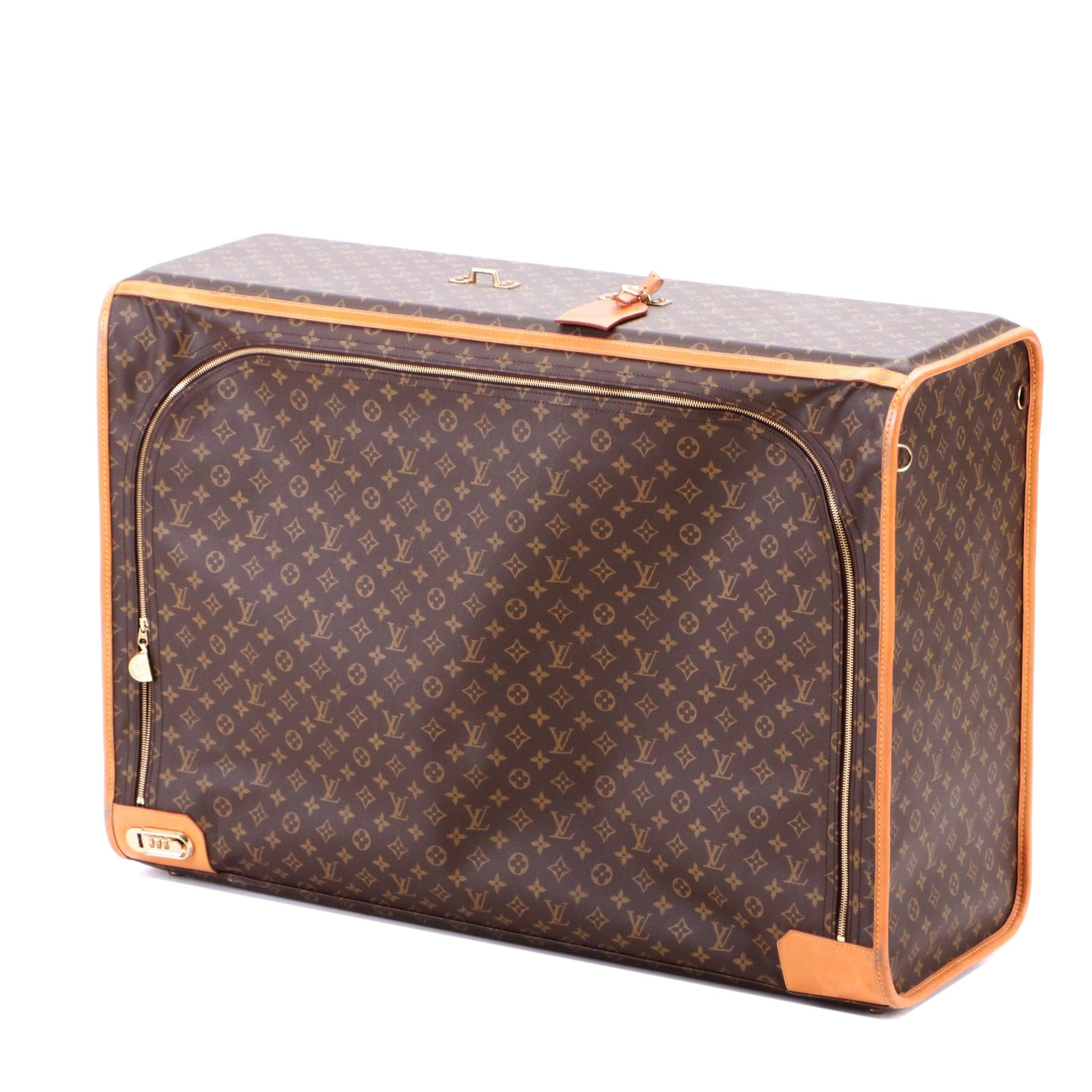 1995 Louis Vuitton Monogram Canvas Suitcase
