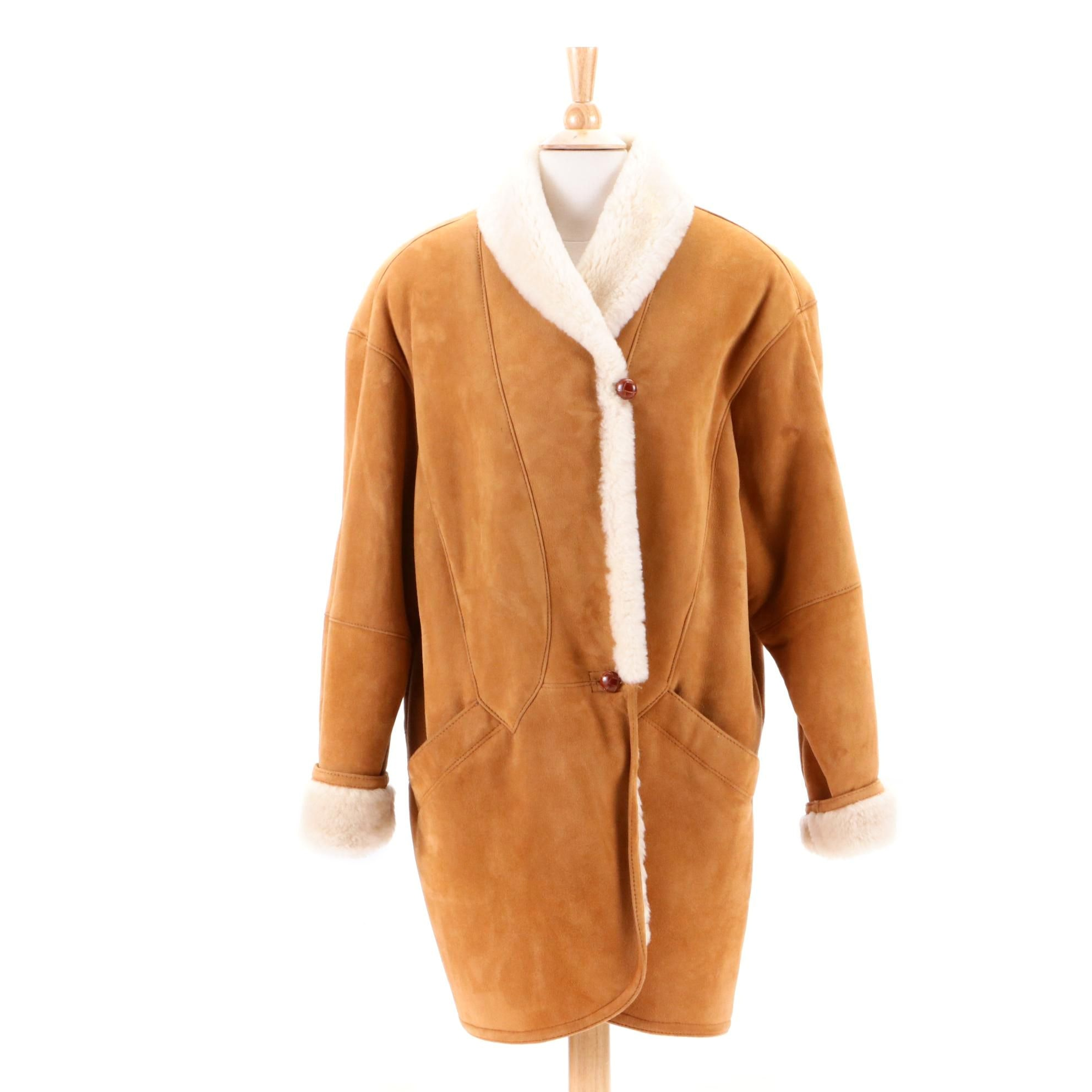 Women's Jacobson's Sheepskin and Shearling Coat