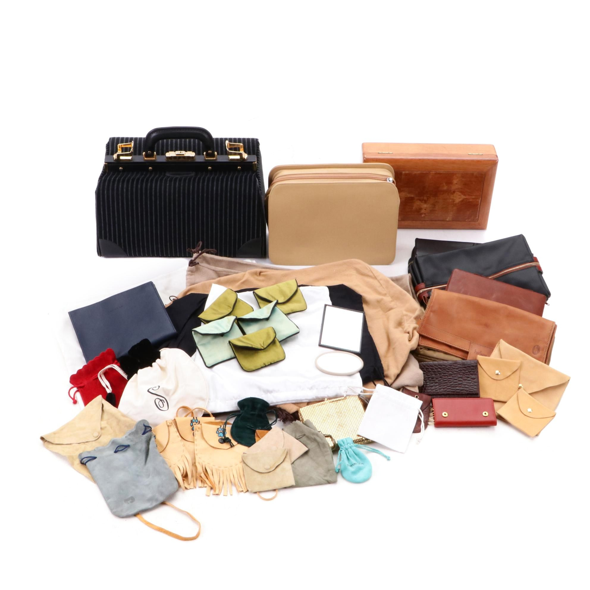 BLVGARI, Swaine Adeney, Bottega Veneta and French Travel Bags and Jewelry Boxes