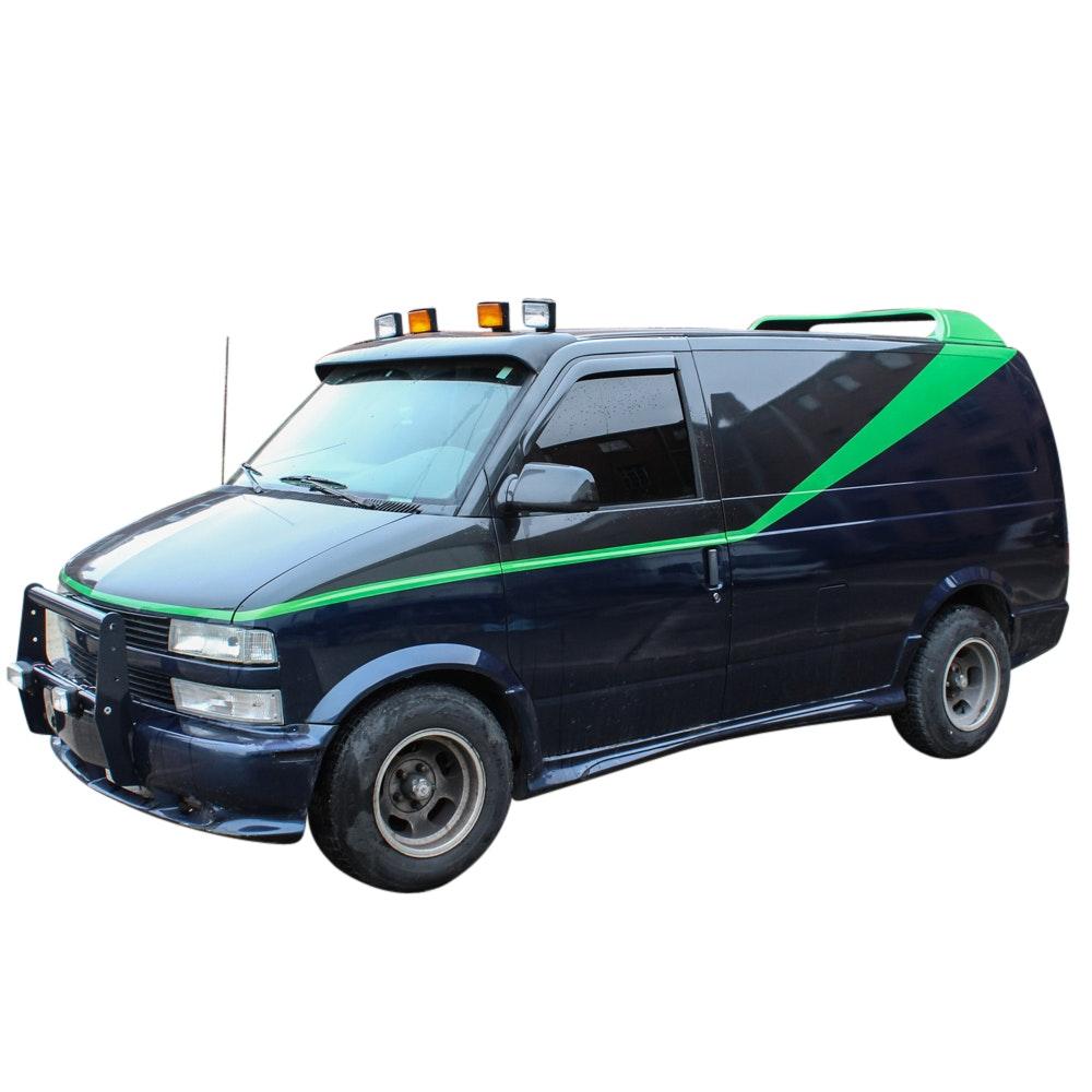"1996 Chevrolet Astro Cargo Van in ""A-Team"" Style"