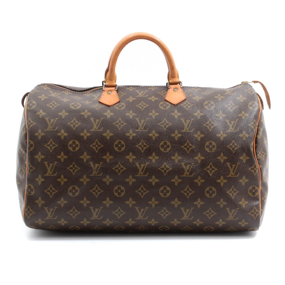 Louis Vuitton Speedy 40 Monogram Handbag