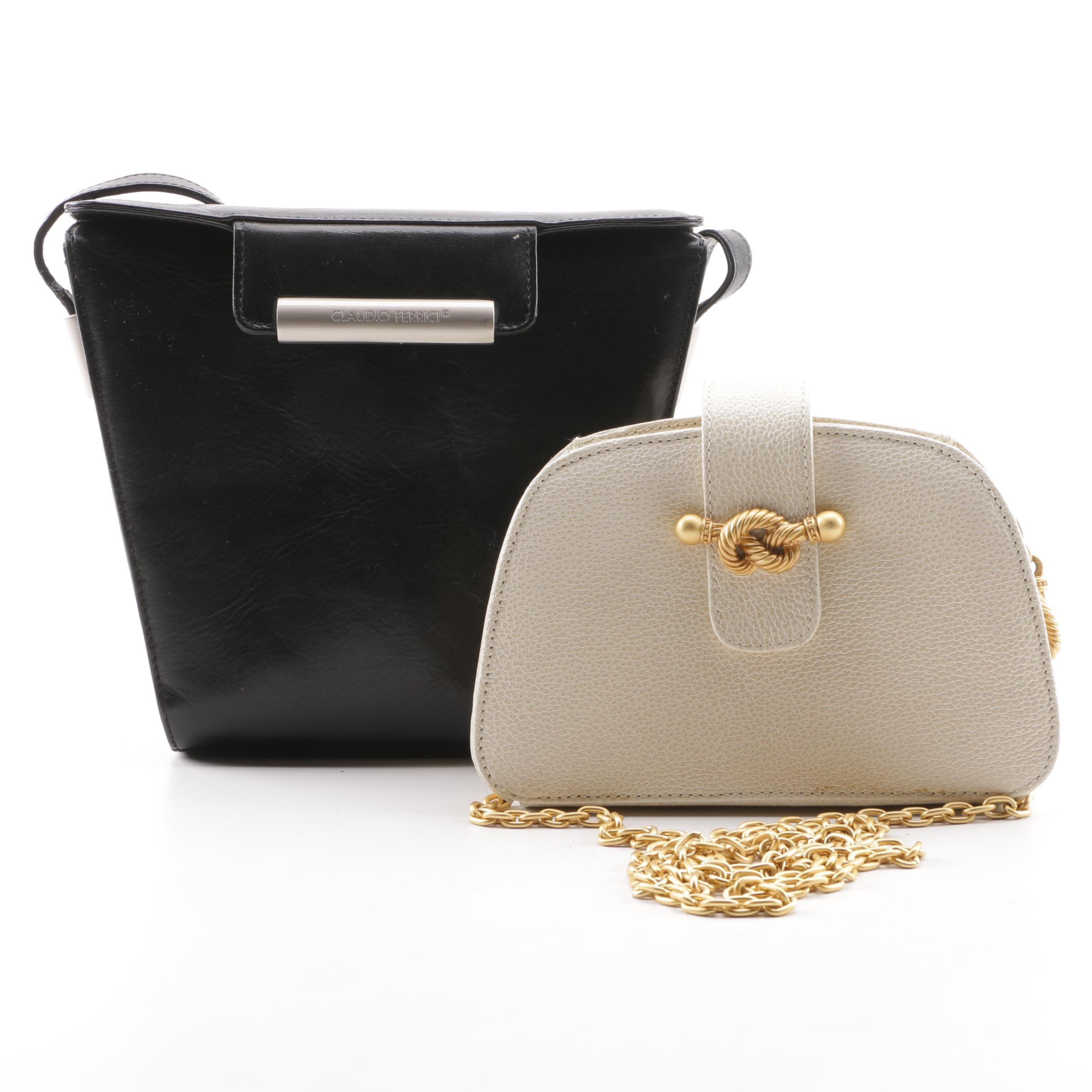 Claudio Ferrici and Vicenza Italian Leather Handbags