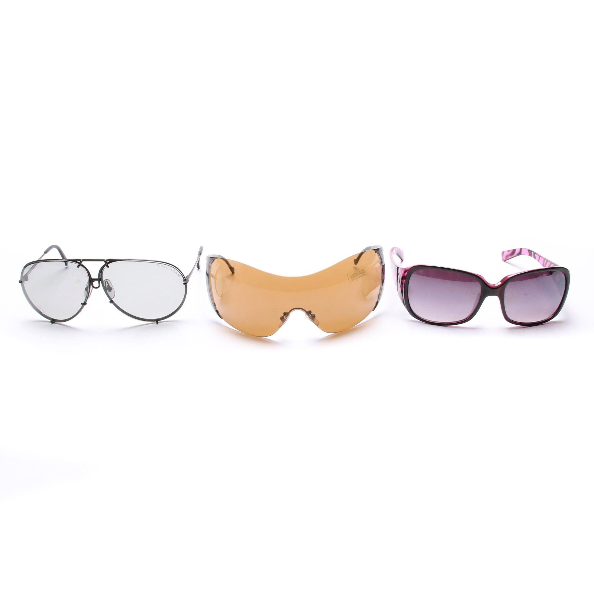 Versace, Carrera and Solaray Sunglasses