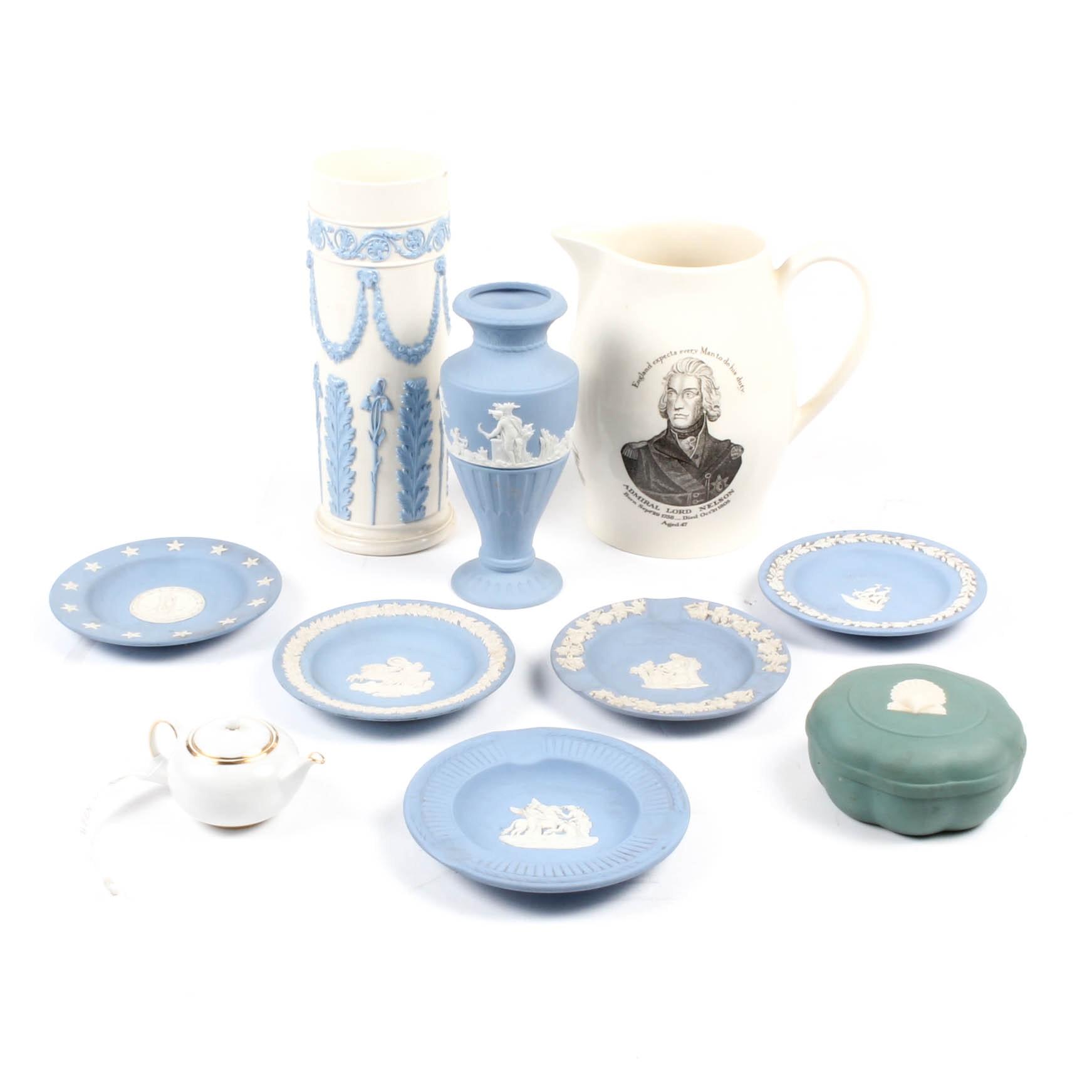 Wedgwood Porcelain and Jasperware Assortment