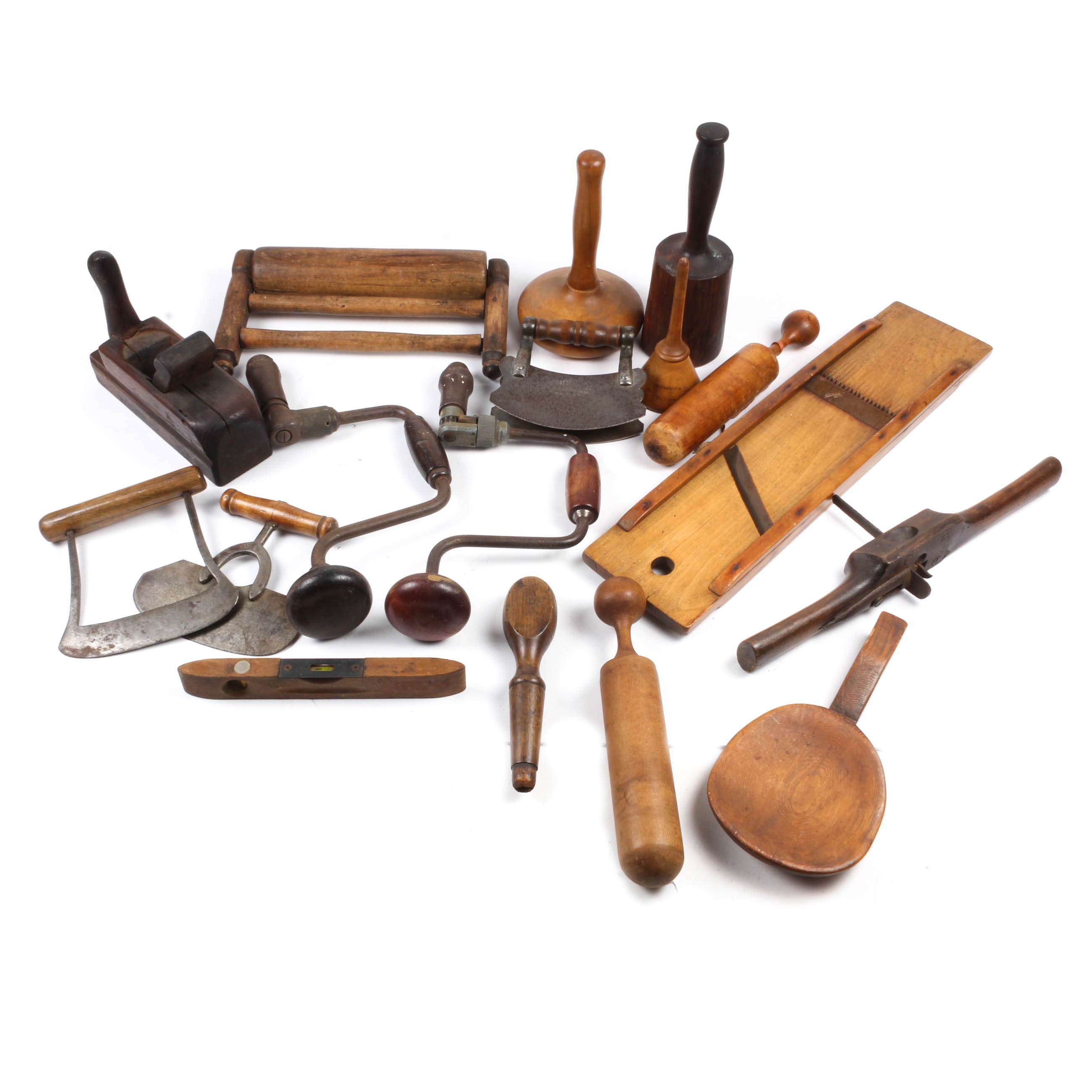 Wood and Metal Household Primitives