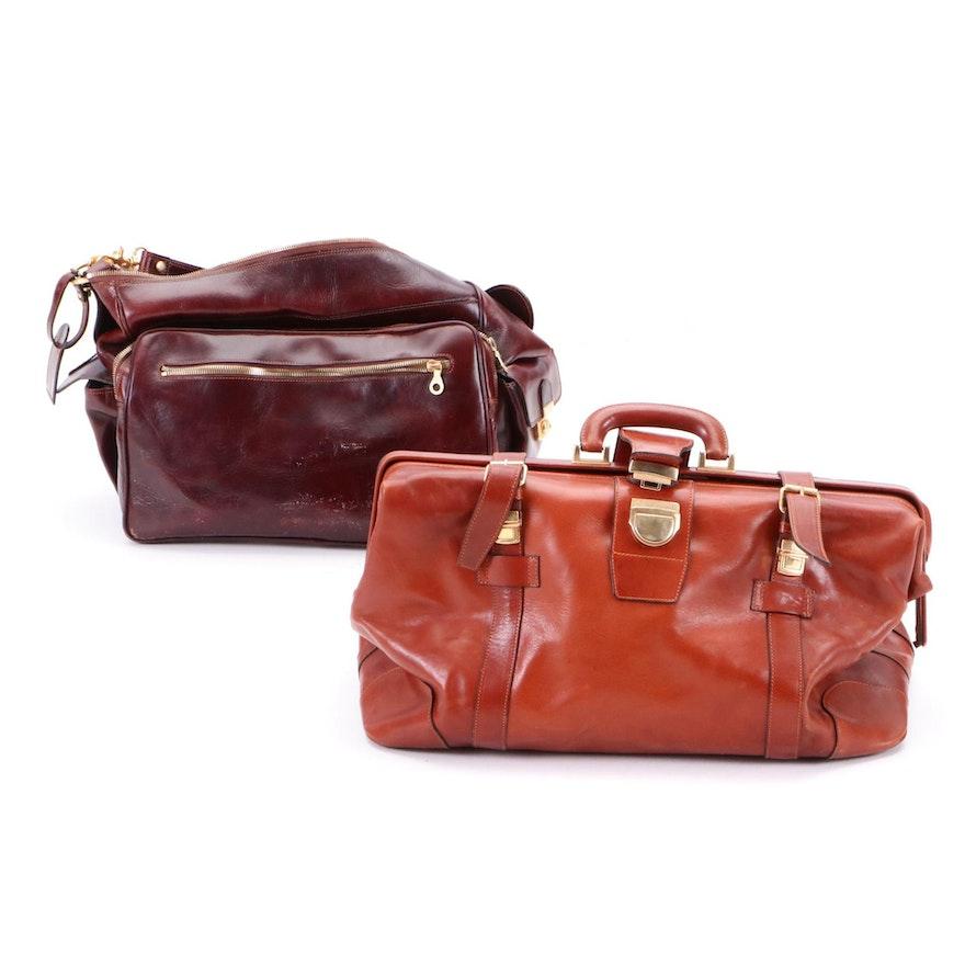 3e5b74d967a1 Vintage Leather Satchels including Alessandro Venanzi   EBTH