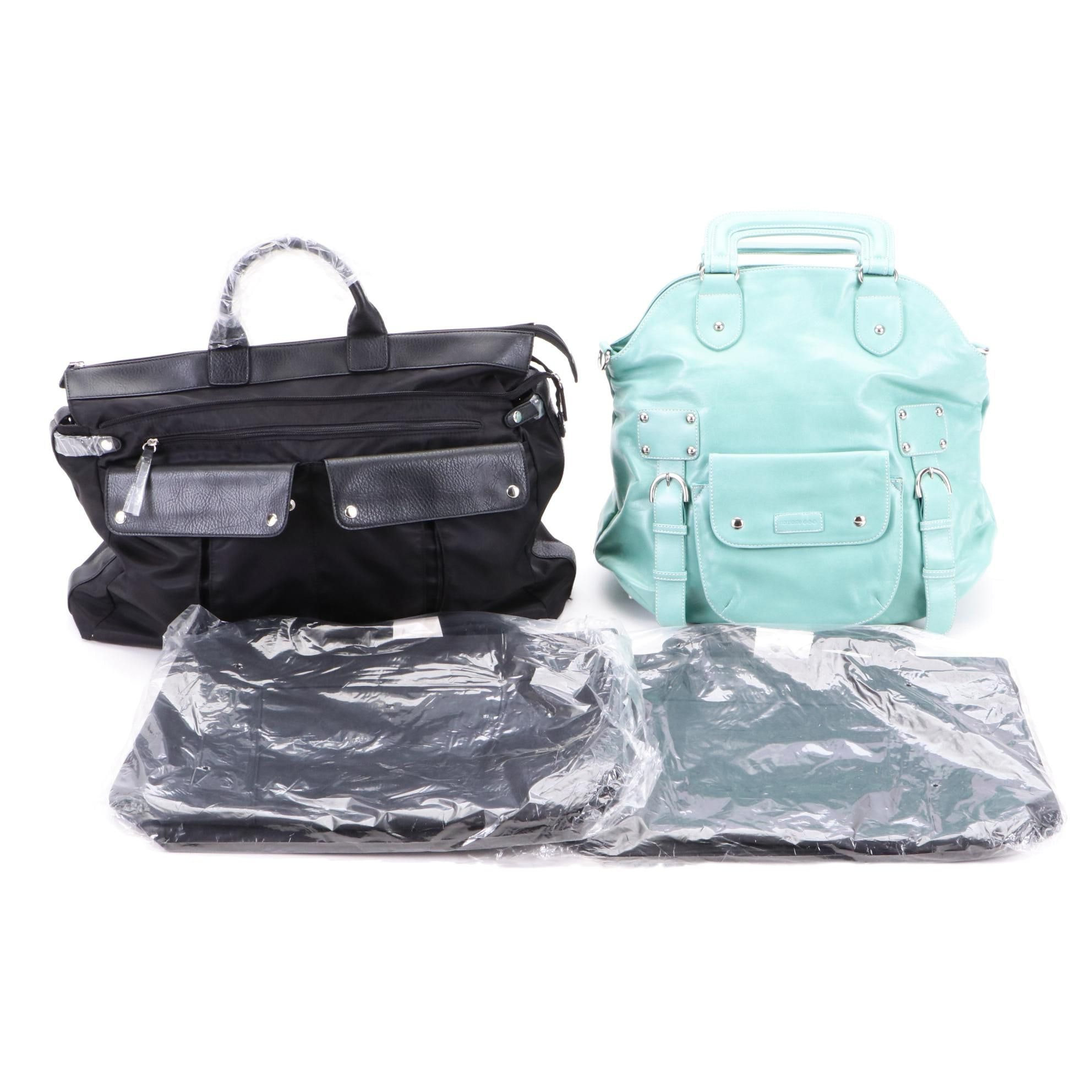 Assortment of Handbags Including Namaste