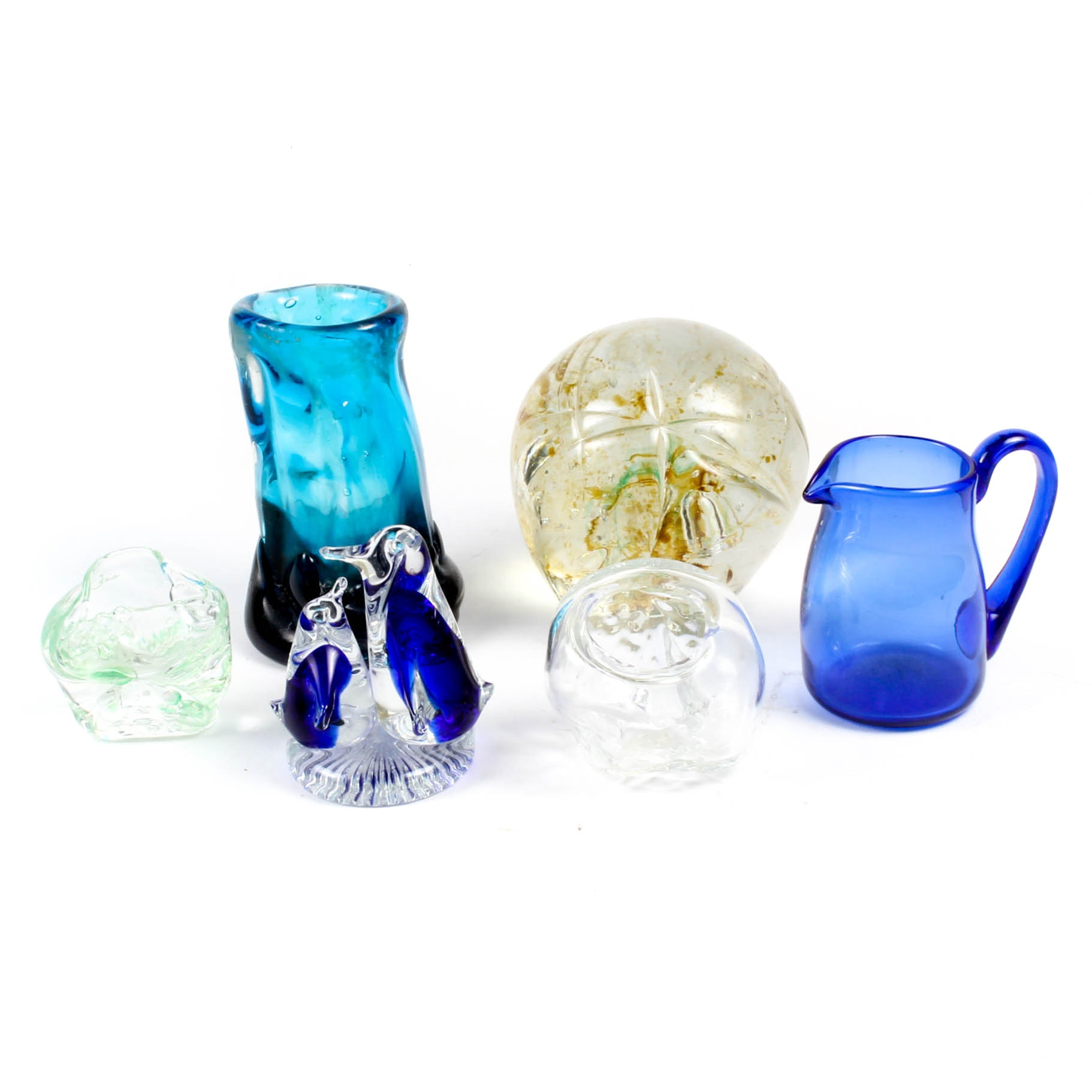 Art Glass Vases and Decor