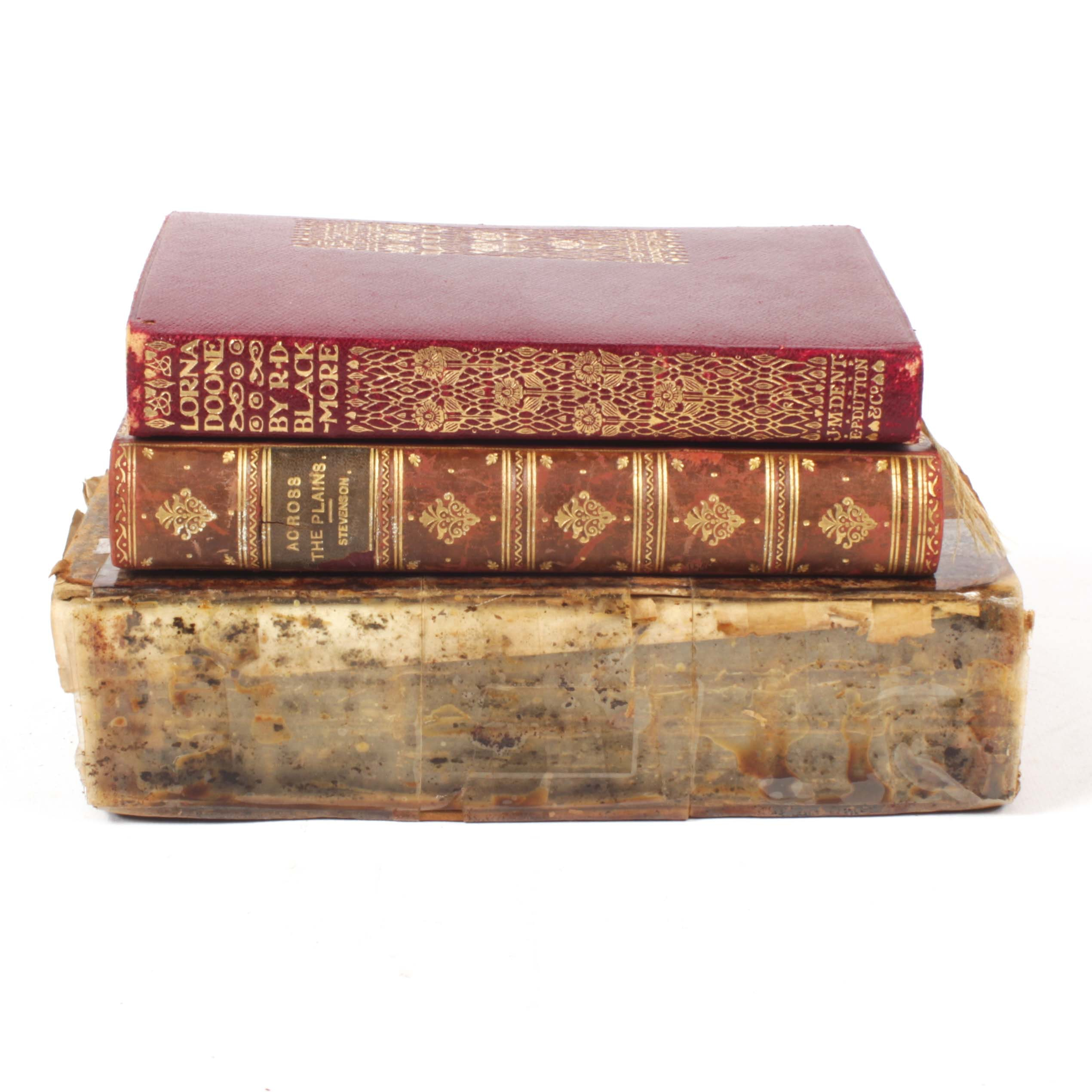 """Antique """"Lorna Doone"""" by R.D. Blackmore and More"""