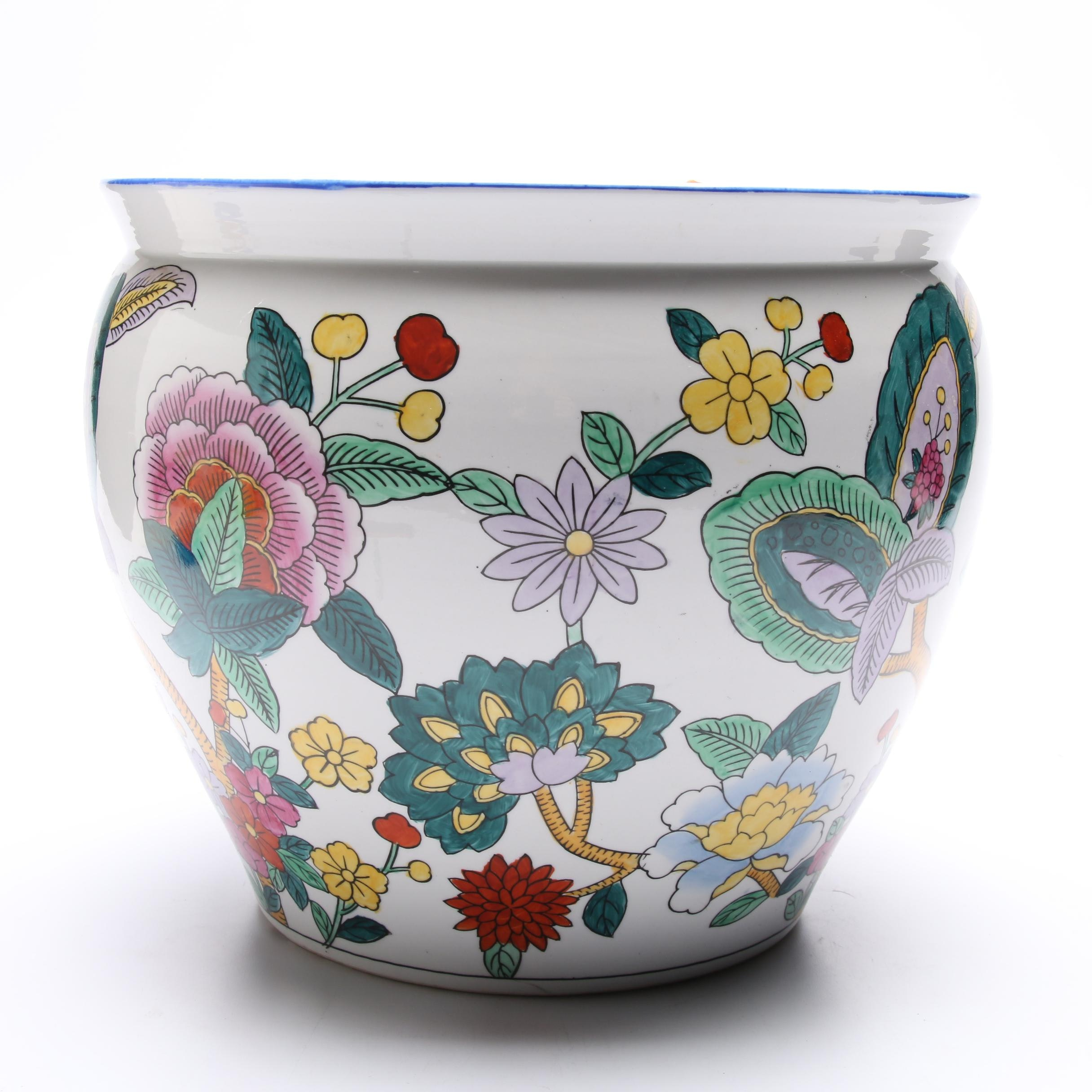 Chinese Decorative Ceramic Planter